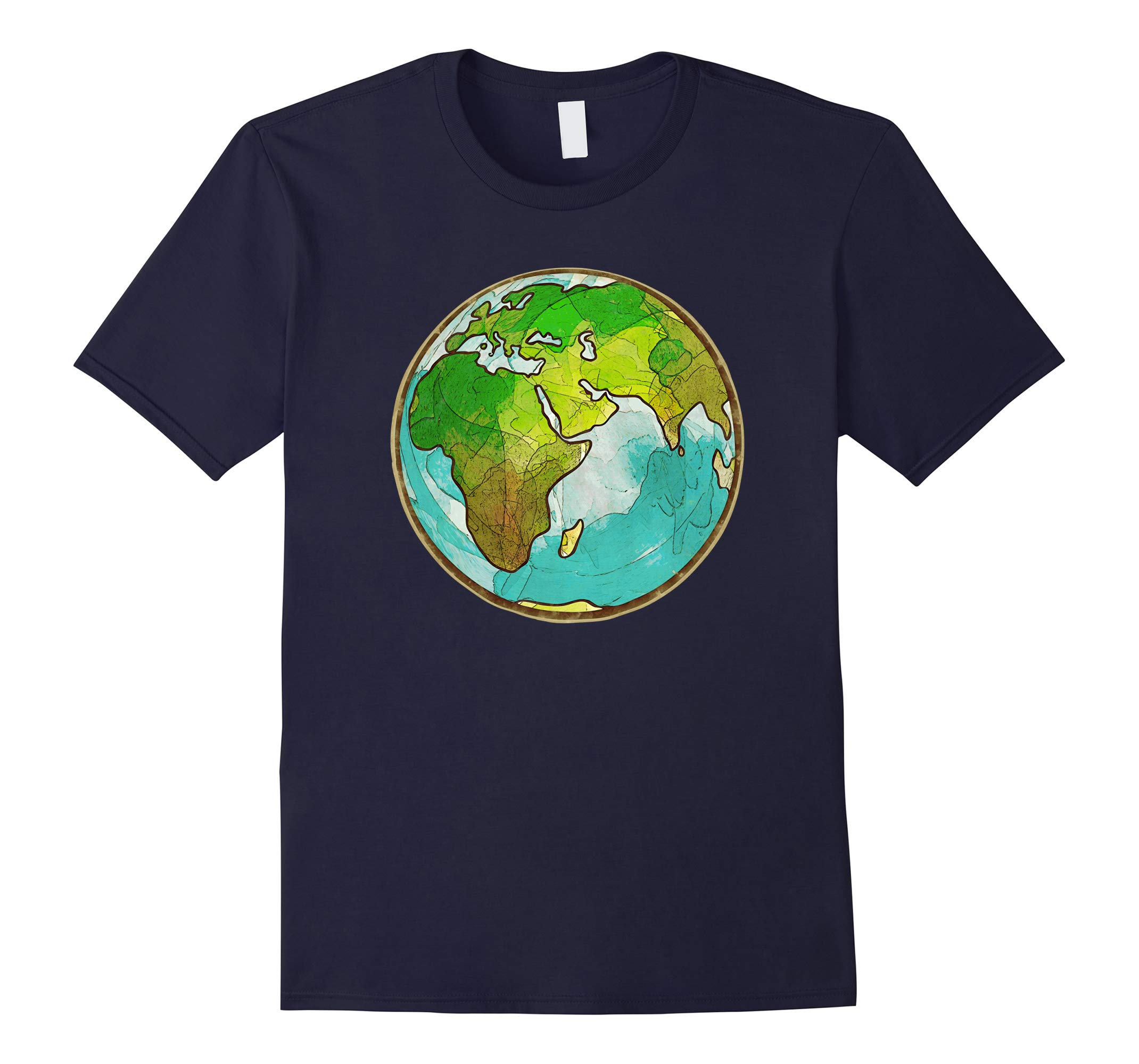 'Planet Earth Globe' Awesome Earth Day Globe Shirt-RT