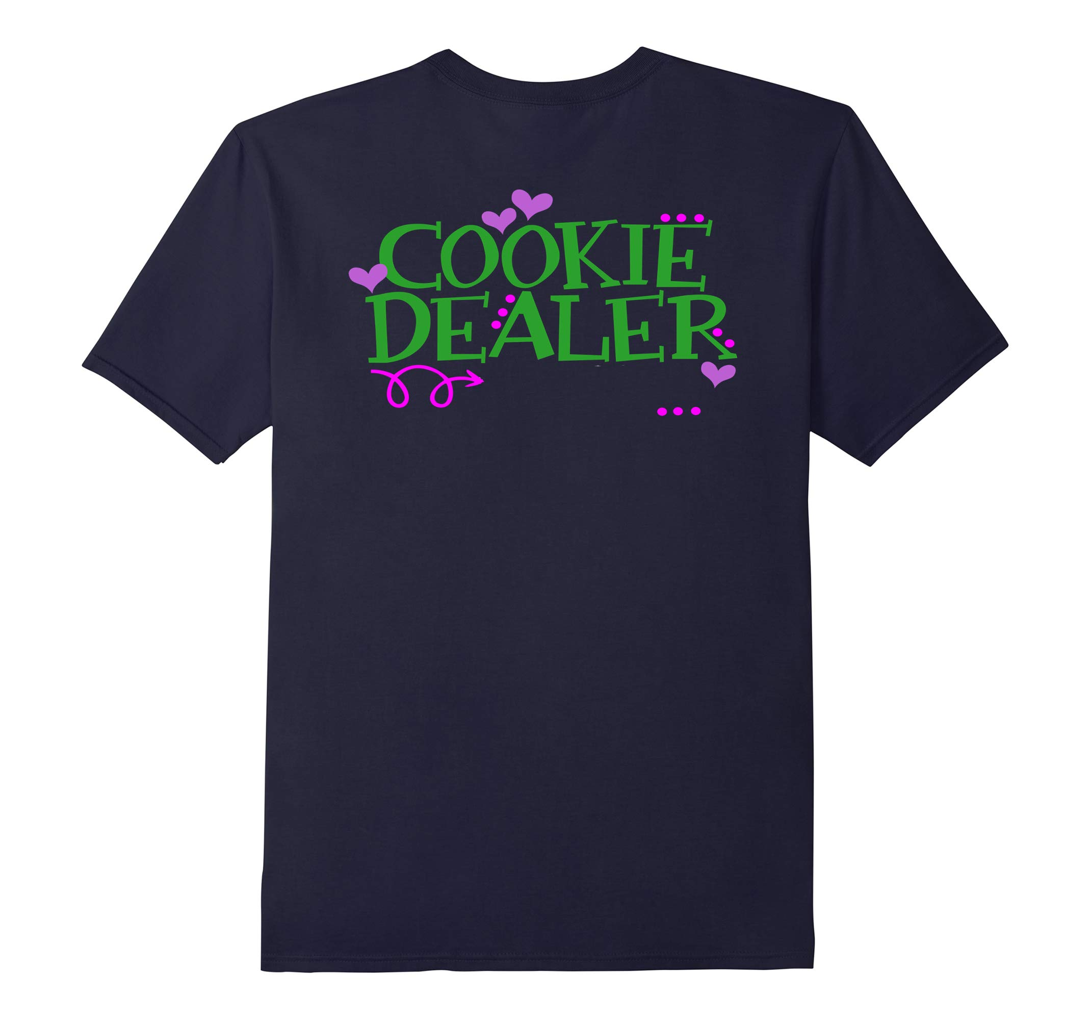 Cookie Dealer Funny Scouts Shirt Girl Kids Scouting-RT