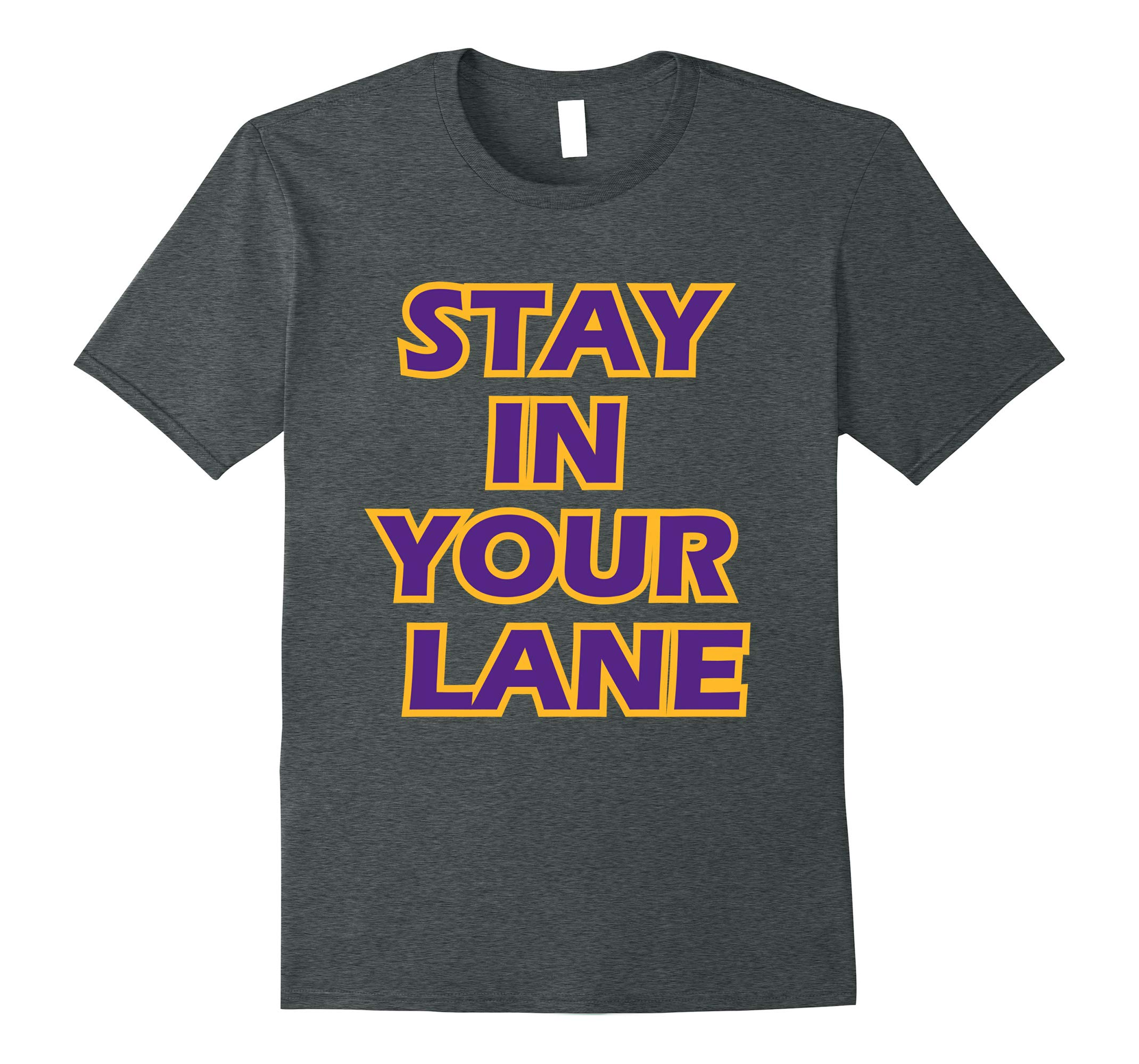 Ballin Stay In Your Lane Funny Parody Big Basketball Tshirt-RT