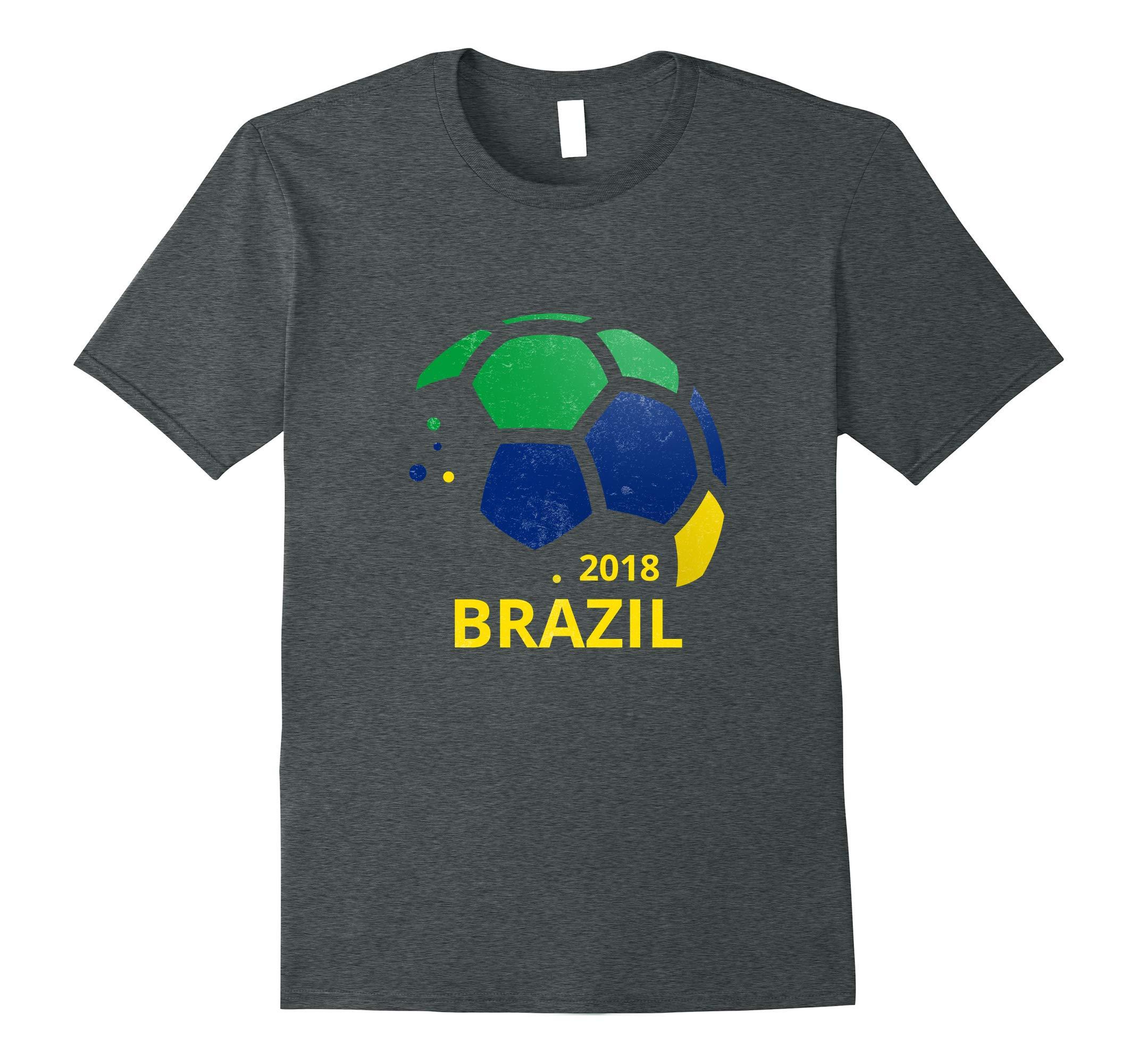 Brazil Fan Pride Soccer Top Clothing Adult Teens Kids-RT