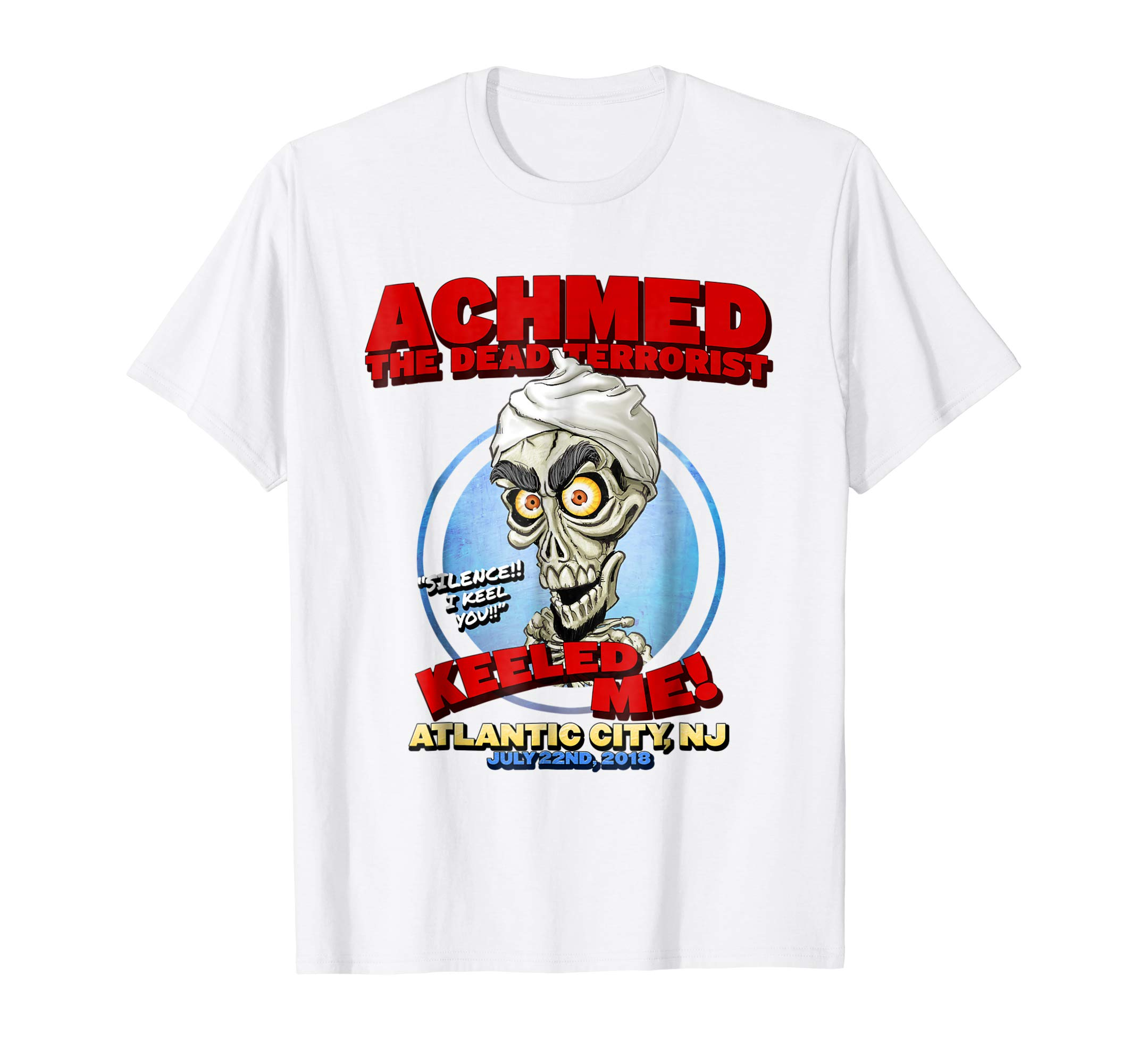 Achmed The Dead Terrorist Atlantic City, NJ Shirt-mt