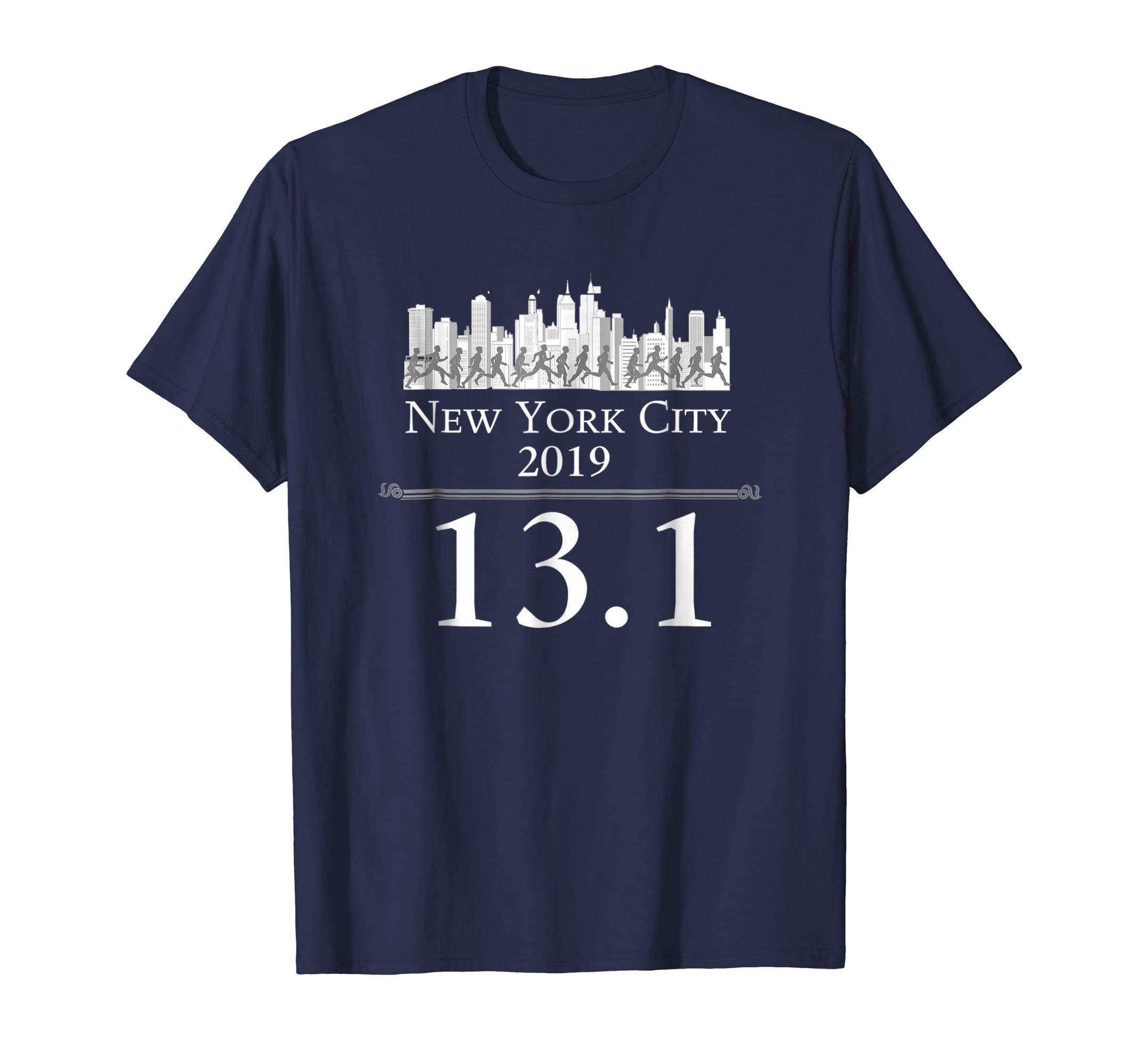 NYC Half Marathon Shirt New York City 2019 Runners-azvn