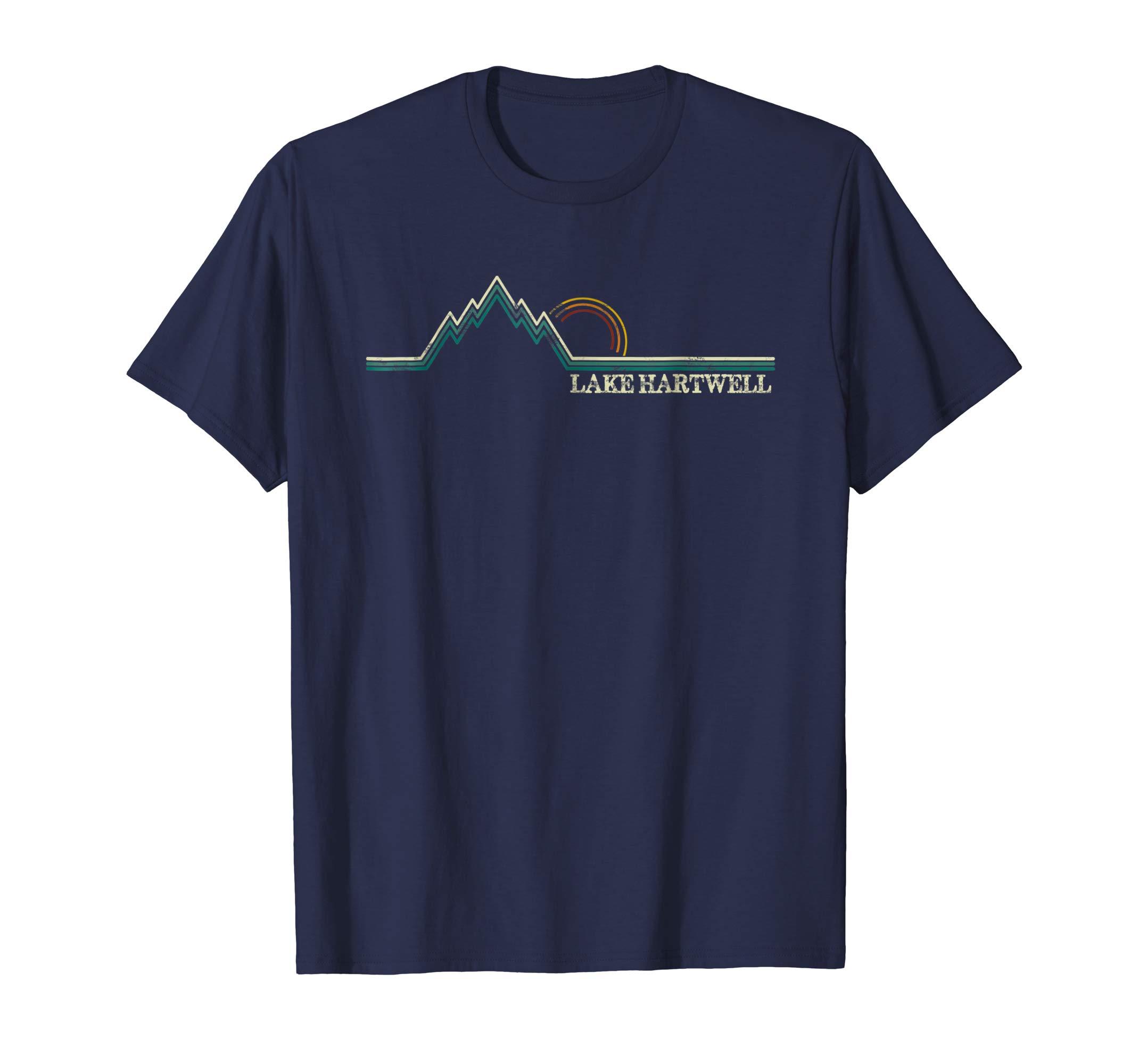 Lake Hartwell Retro South Carolina Georgia Shirt-azvn
