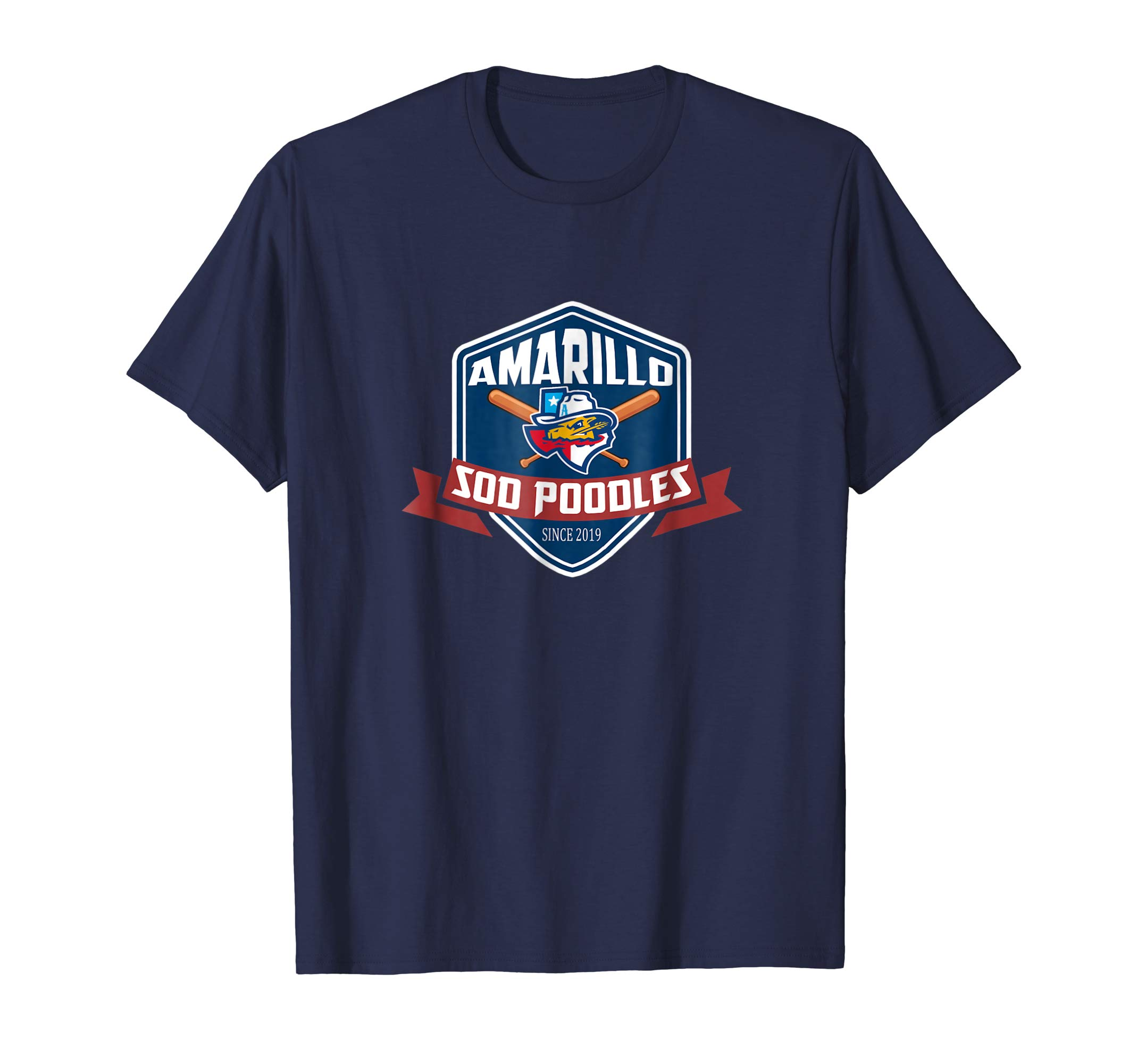 Amarillo Sod Poodles T Shirt New Baseball Team-azvn