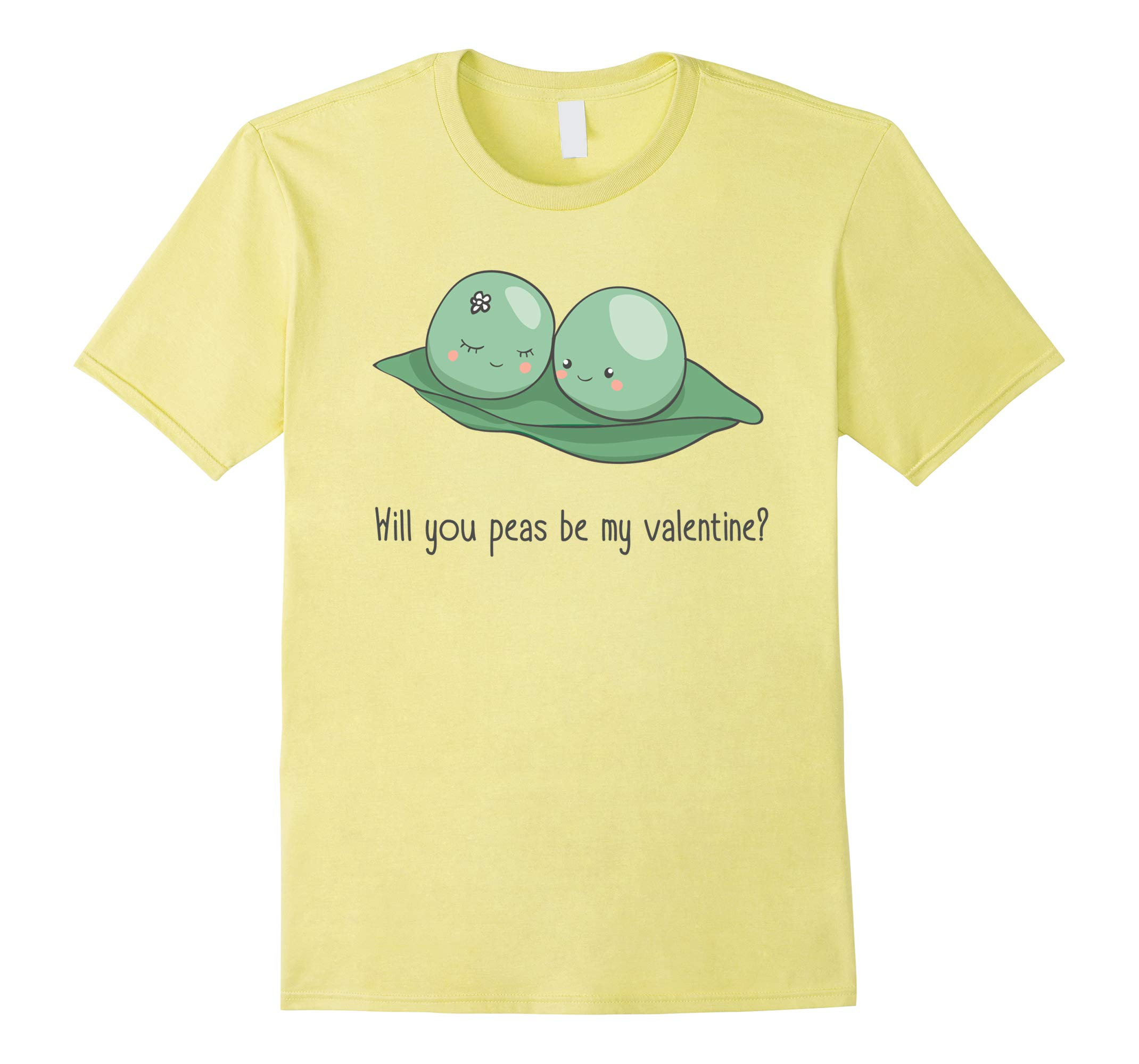 Will You Peas Be My Valentine T-Shirt-RT