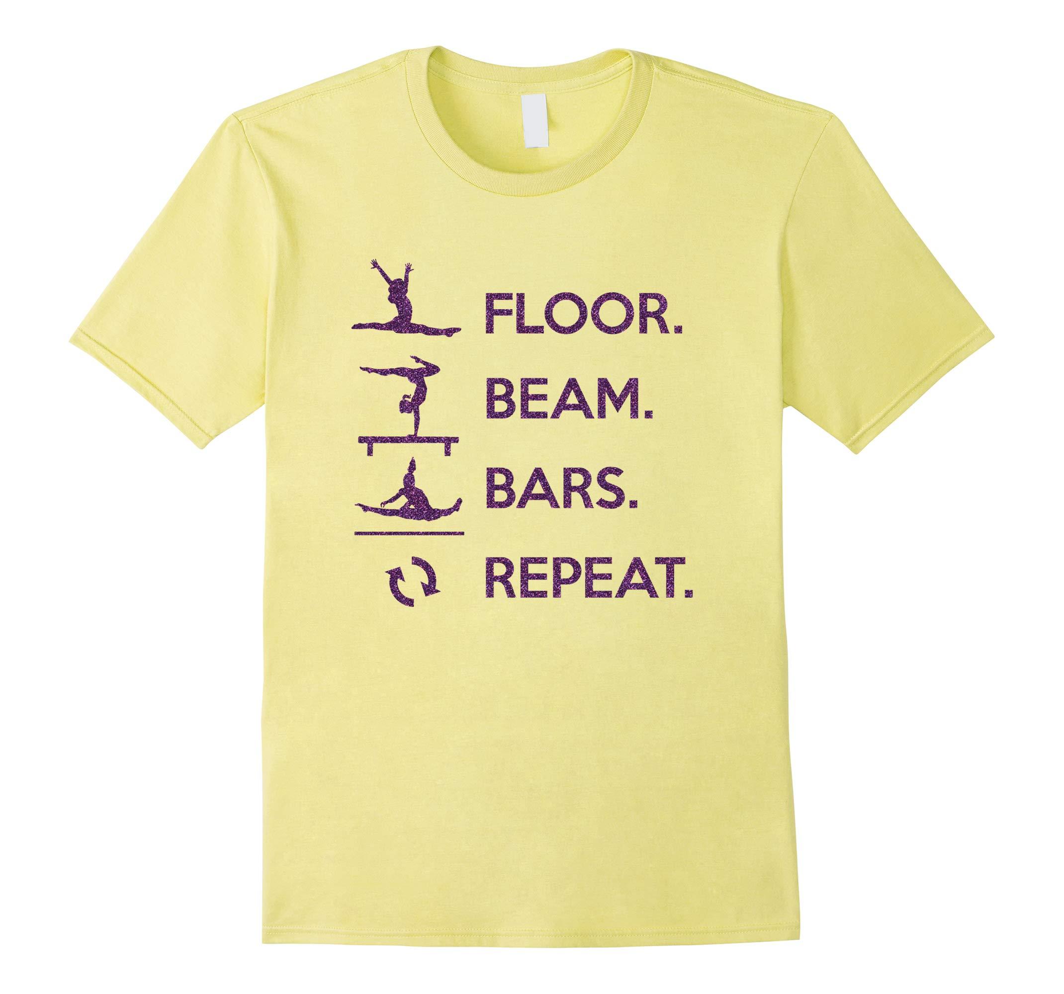 Tumbling Shirt Novelty Short Sleeve Girls Gymnastics Stuff-RT