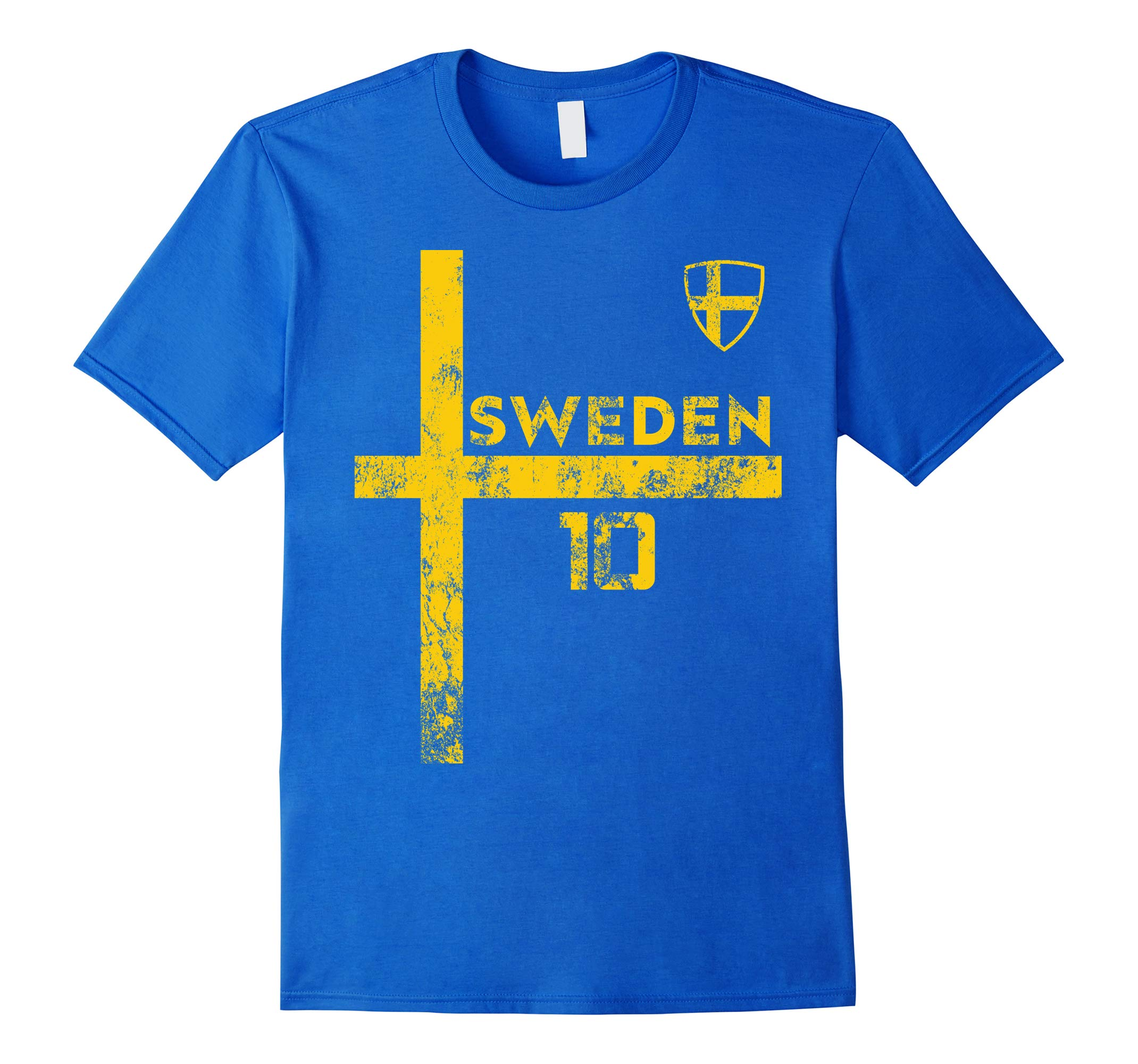 Sweden Soccer Jersey Shirt Sverige Skjorta Vintage Stroja-RT
