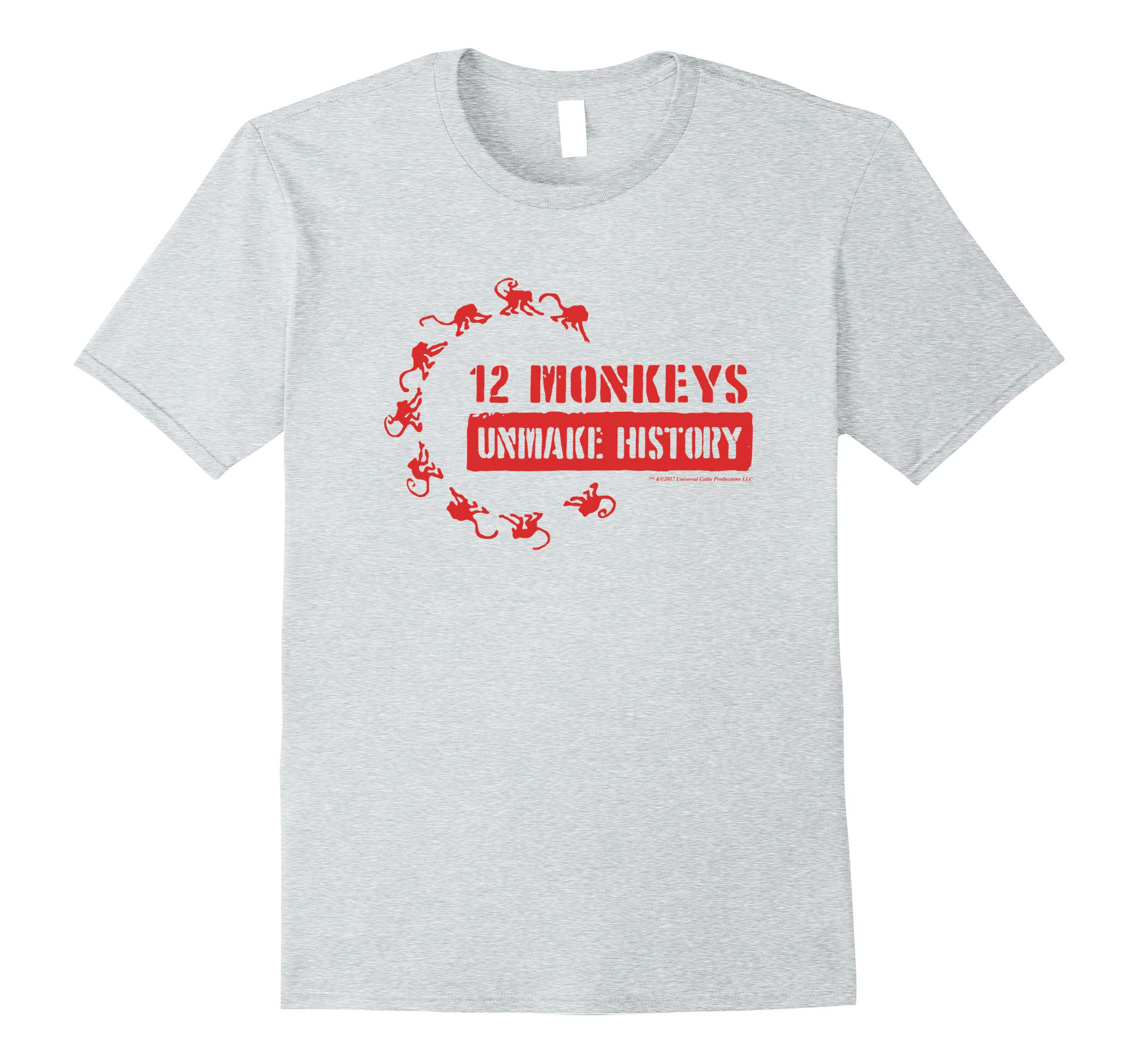12 Monkeys Unmake History Comfortable T-Shirt - Official Tee-RT
