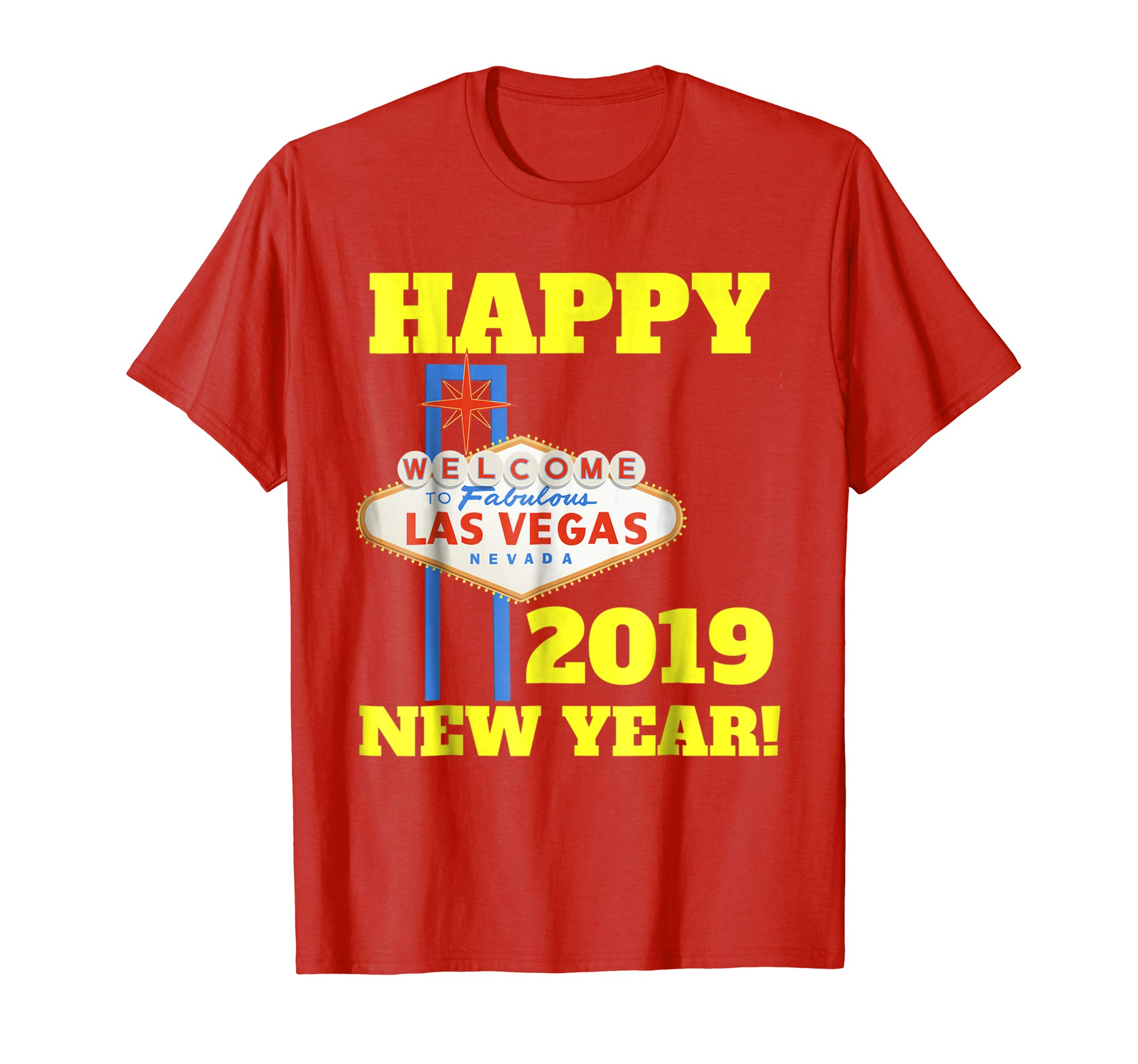Las Vegas New Years 2019 Shirt, Happy New Year Vegas 2019-azvn