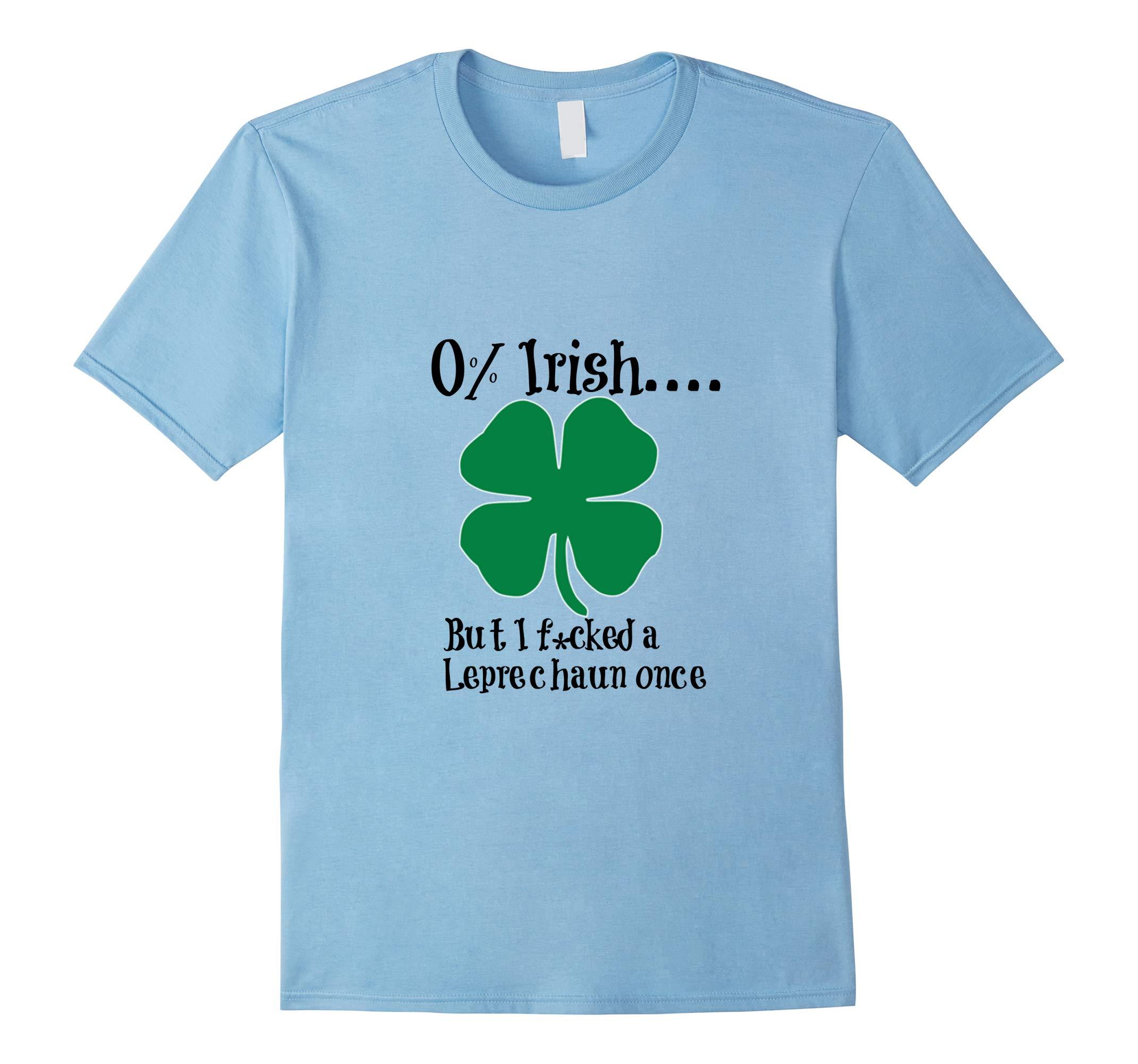 0% Irish St. Patricks Day shirt-RT