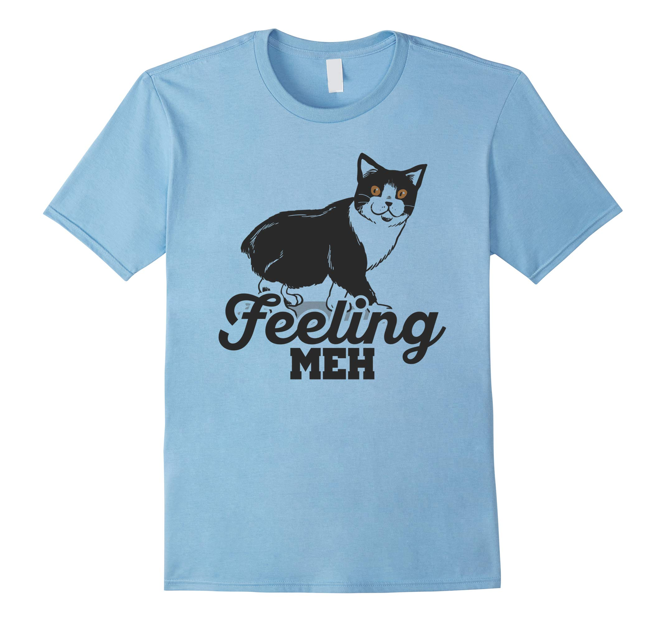 Feeling MEH Cute Cat T-Shirt-RT
