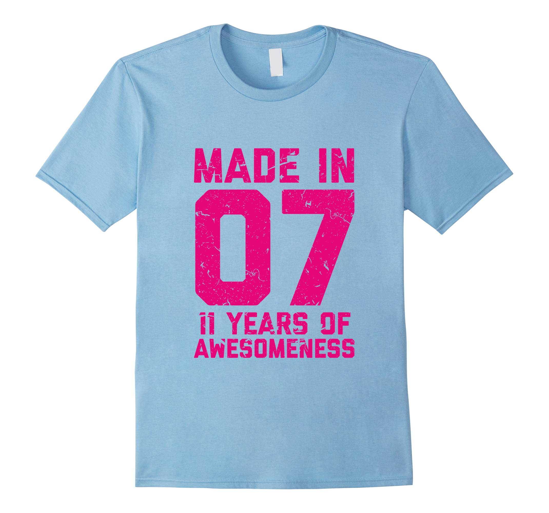 11th Birthday Shirt Gift Girls Age 11 Eleven Year Old Girl T-RT