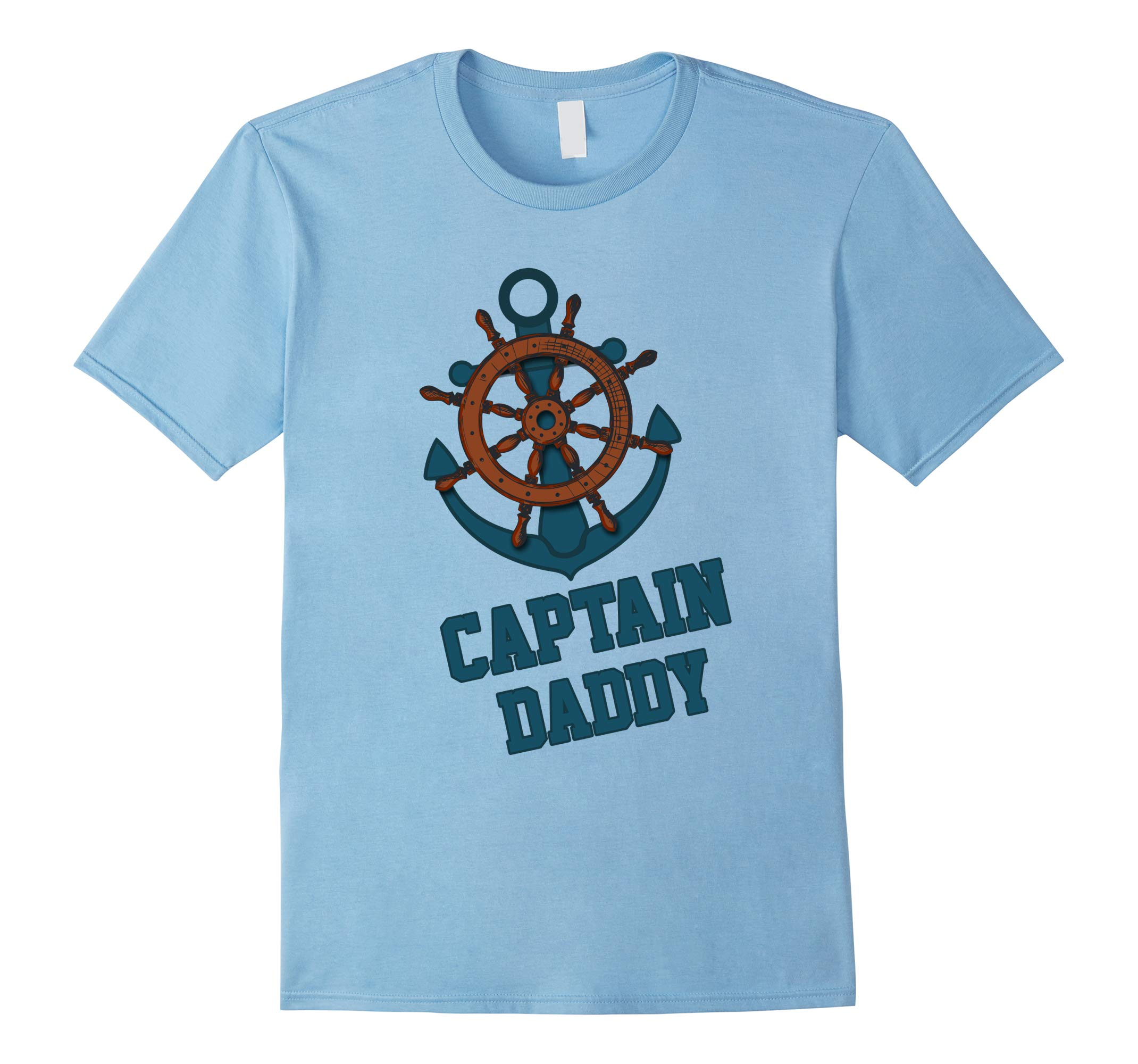 Captain Daddy T-Shirt Boaters Shirt-RT