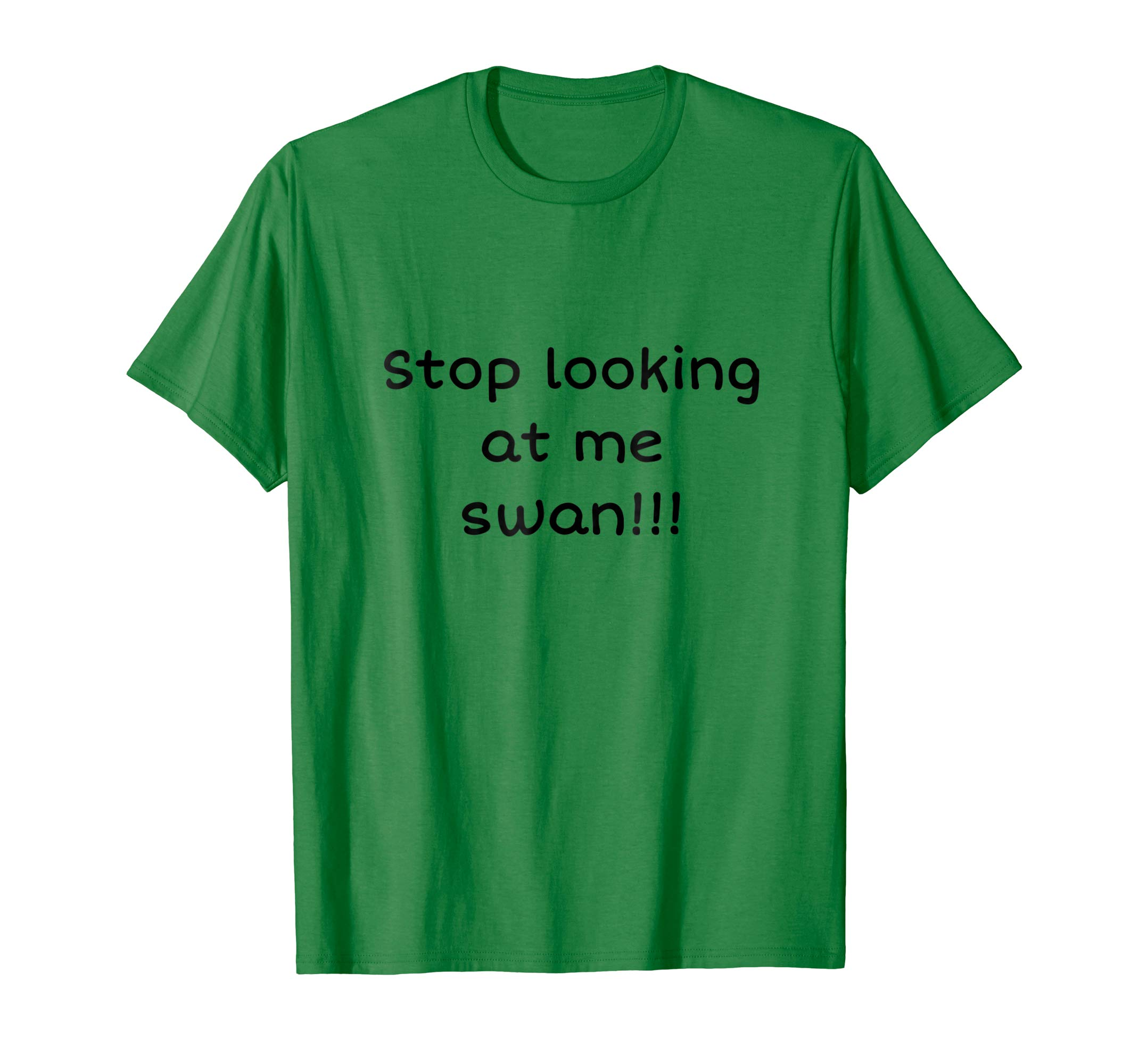 Stop Looking At Me Swan T-Shirt-AZP