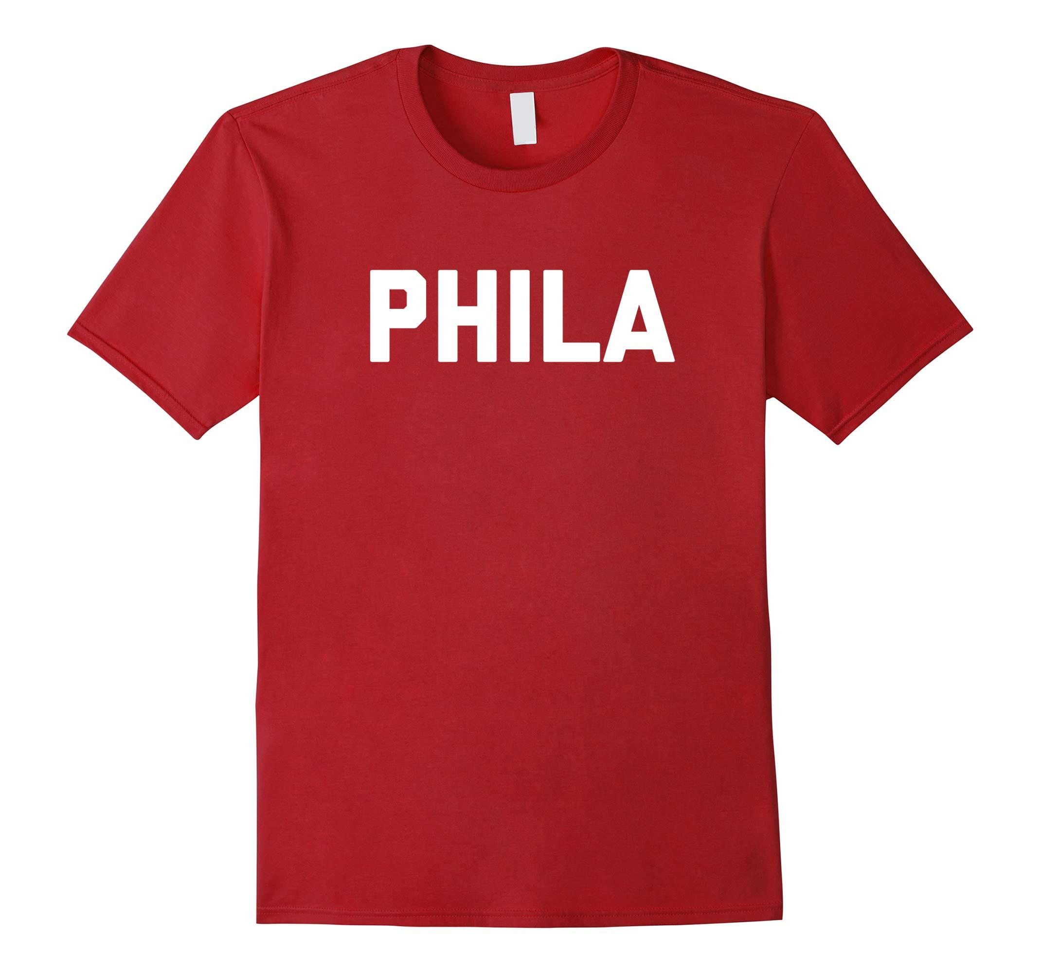 PHILA T-SHIRT Philadelphia Pennsylvania Philly tee-RT
