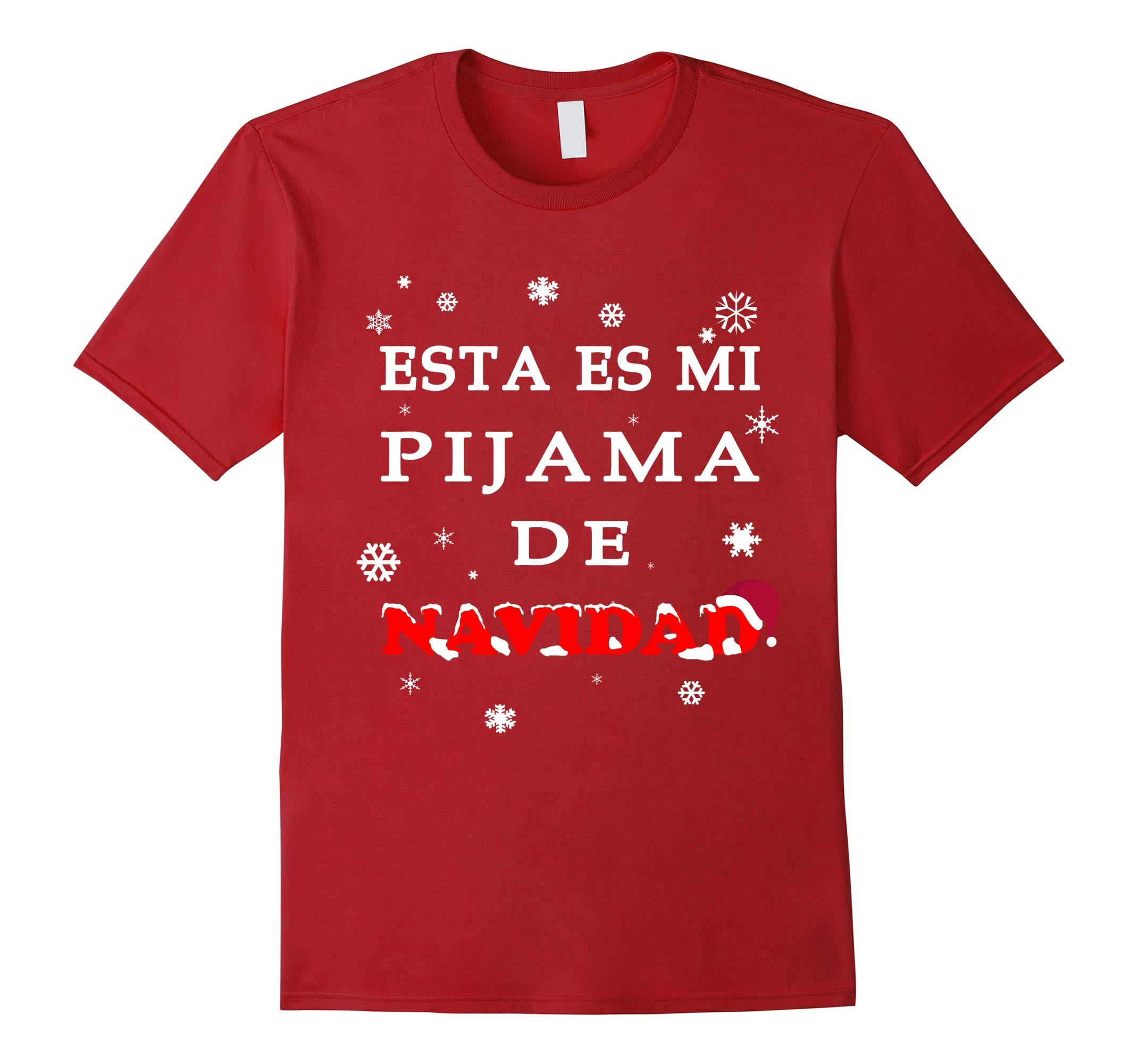 Esta Es Mi Pijama De Navidad Camiseta De Navidad T-Shirt-RT