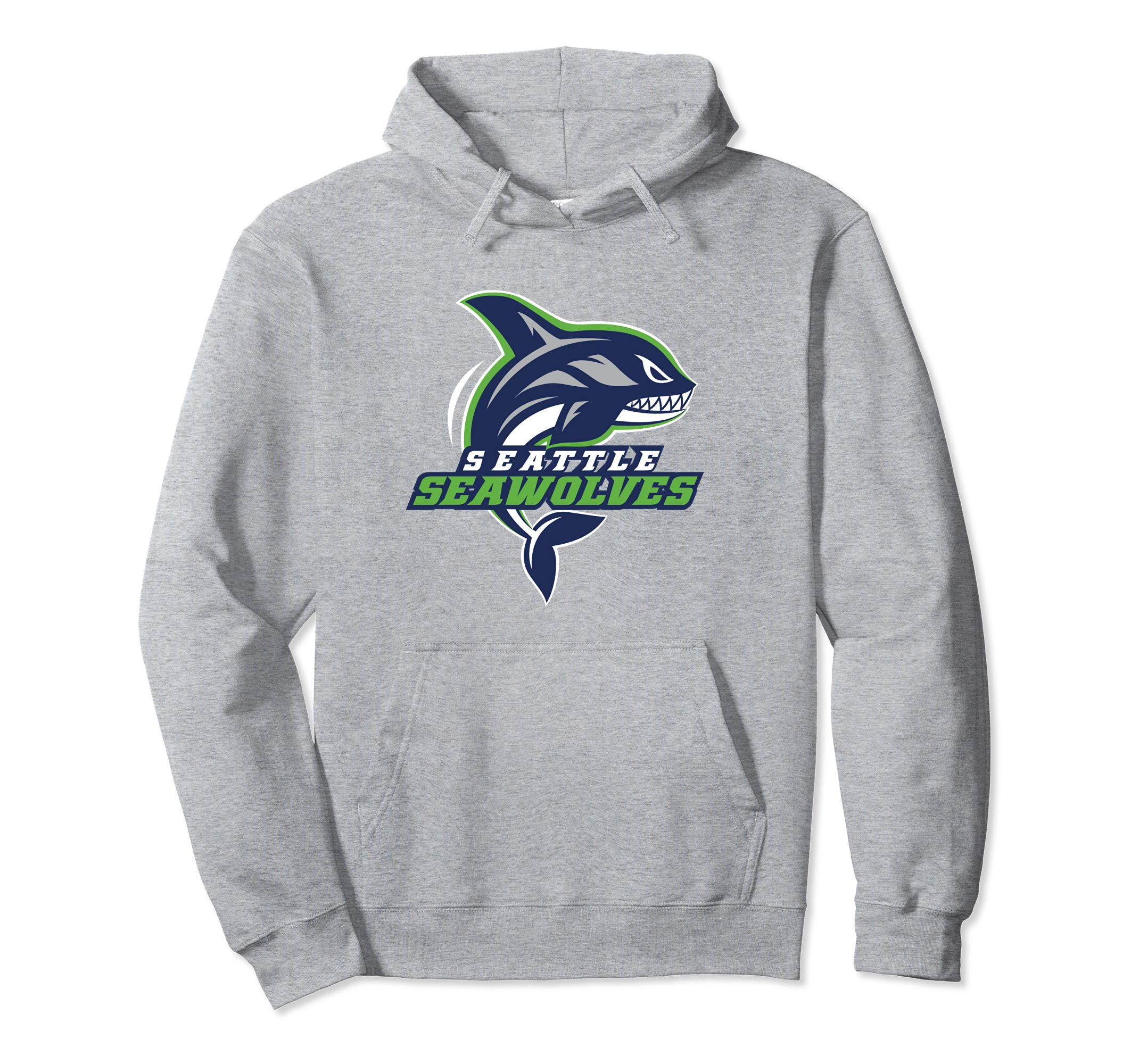 Seattle Seawolves: Logo Pullover Hoodie-4LVS
