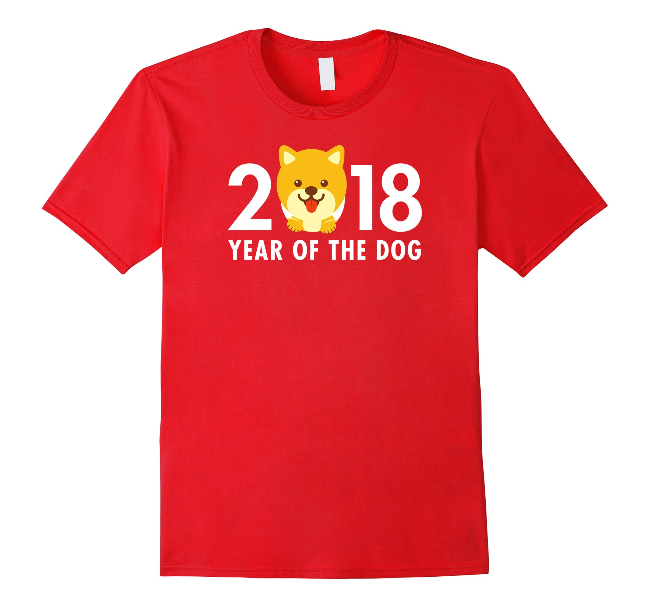 Year of the Dog Shiba Inu Shirt Chinese New Year 2018-RT