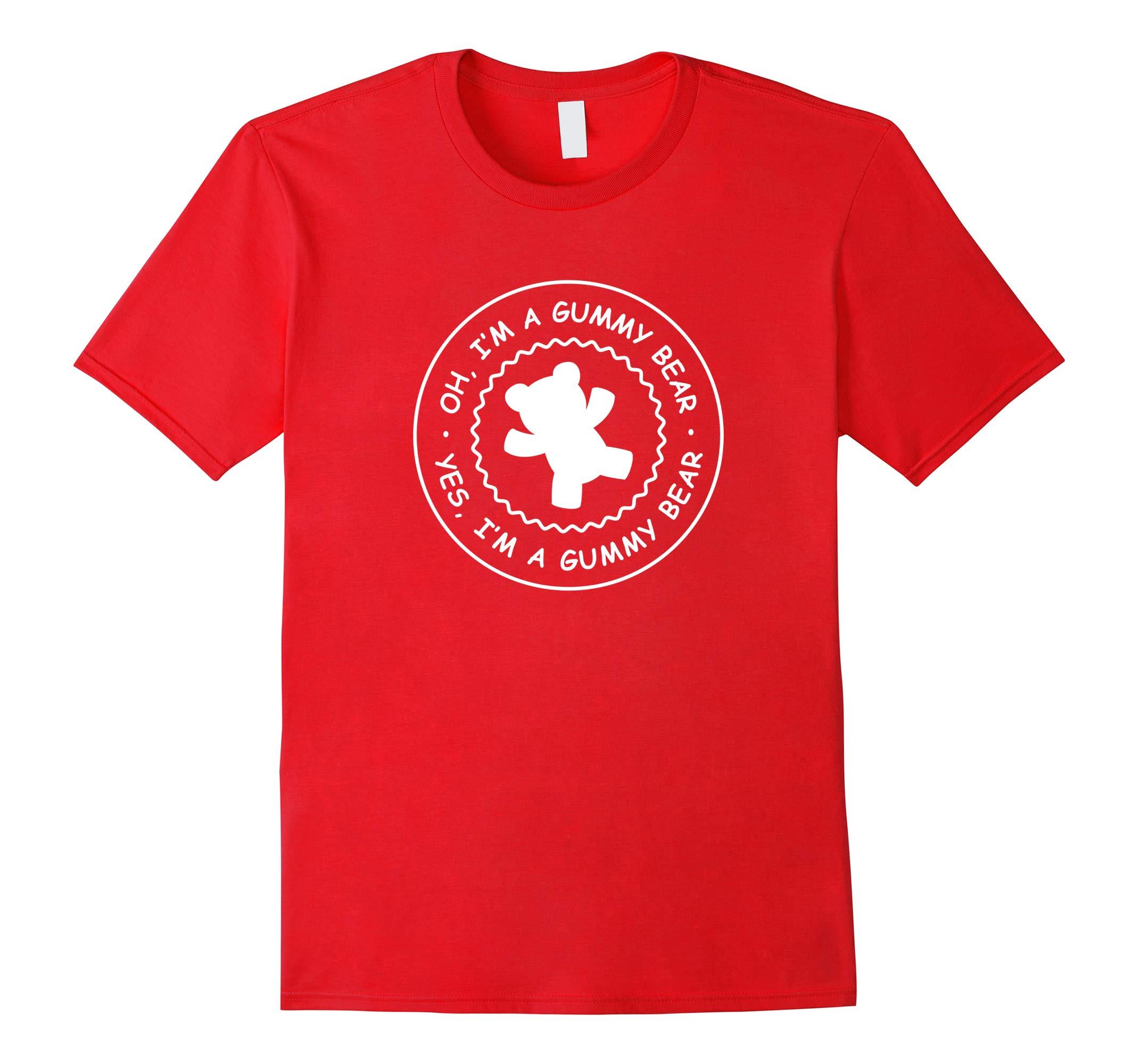Adult Gummy Bear Shirt, I'm A Gummy Bear T-Shirt-RT