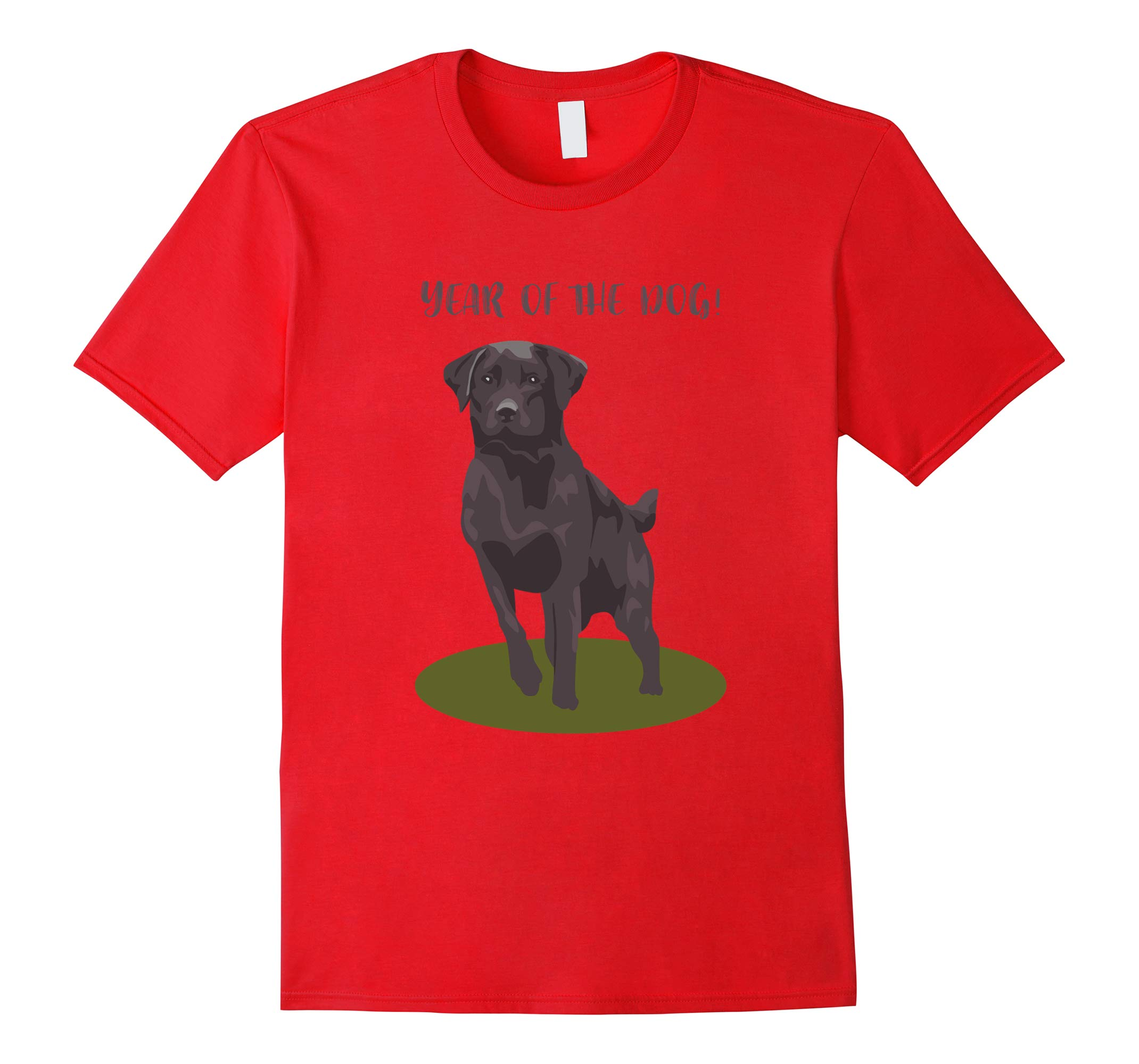 Year of the Dog Labrador Retriever T-Shirt-RT