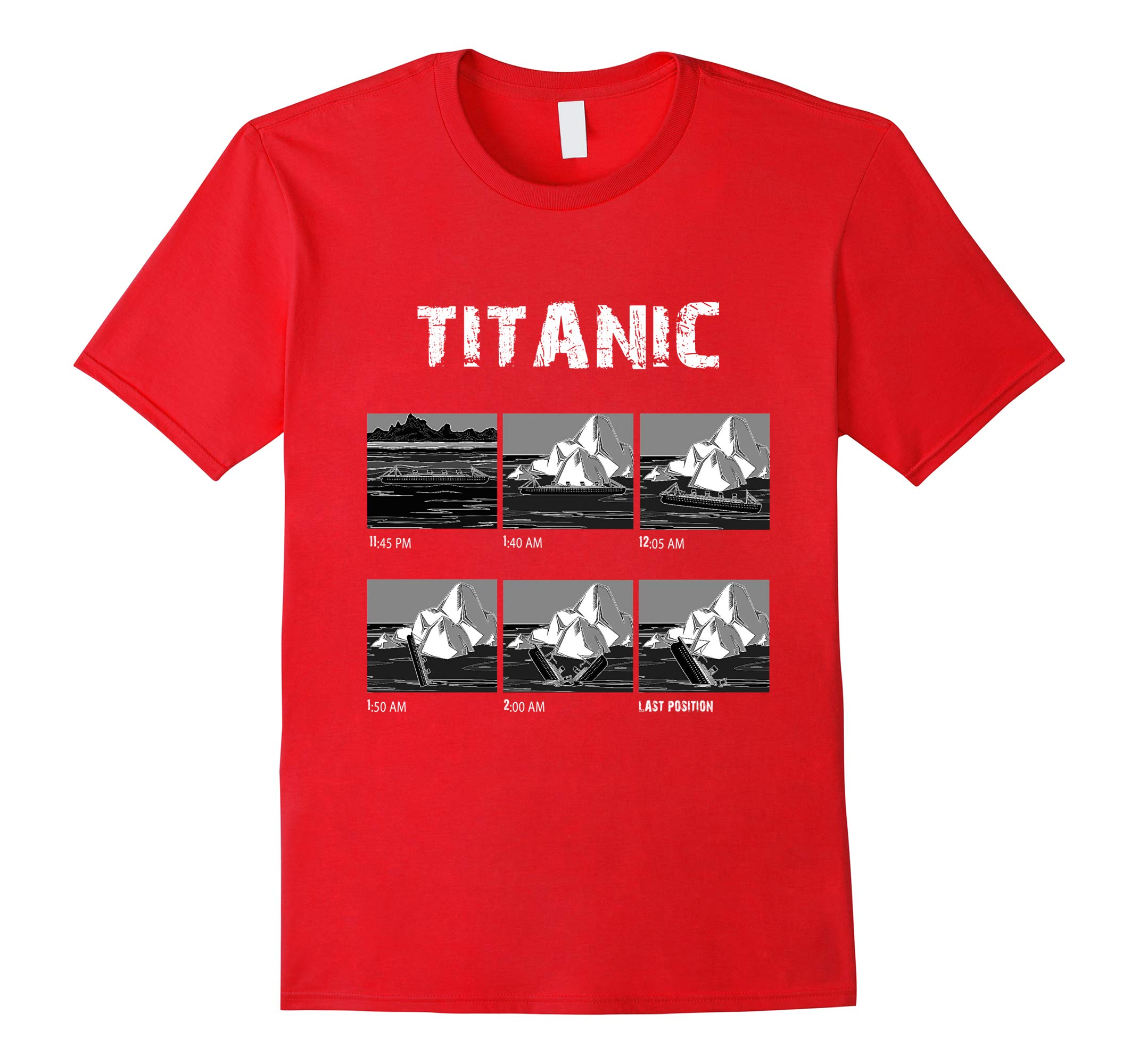 April 1912 Titanic Voyage Atlantic Ocean Ship History Tee-RT