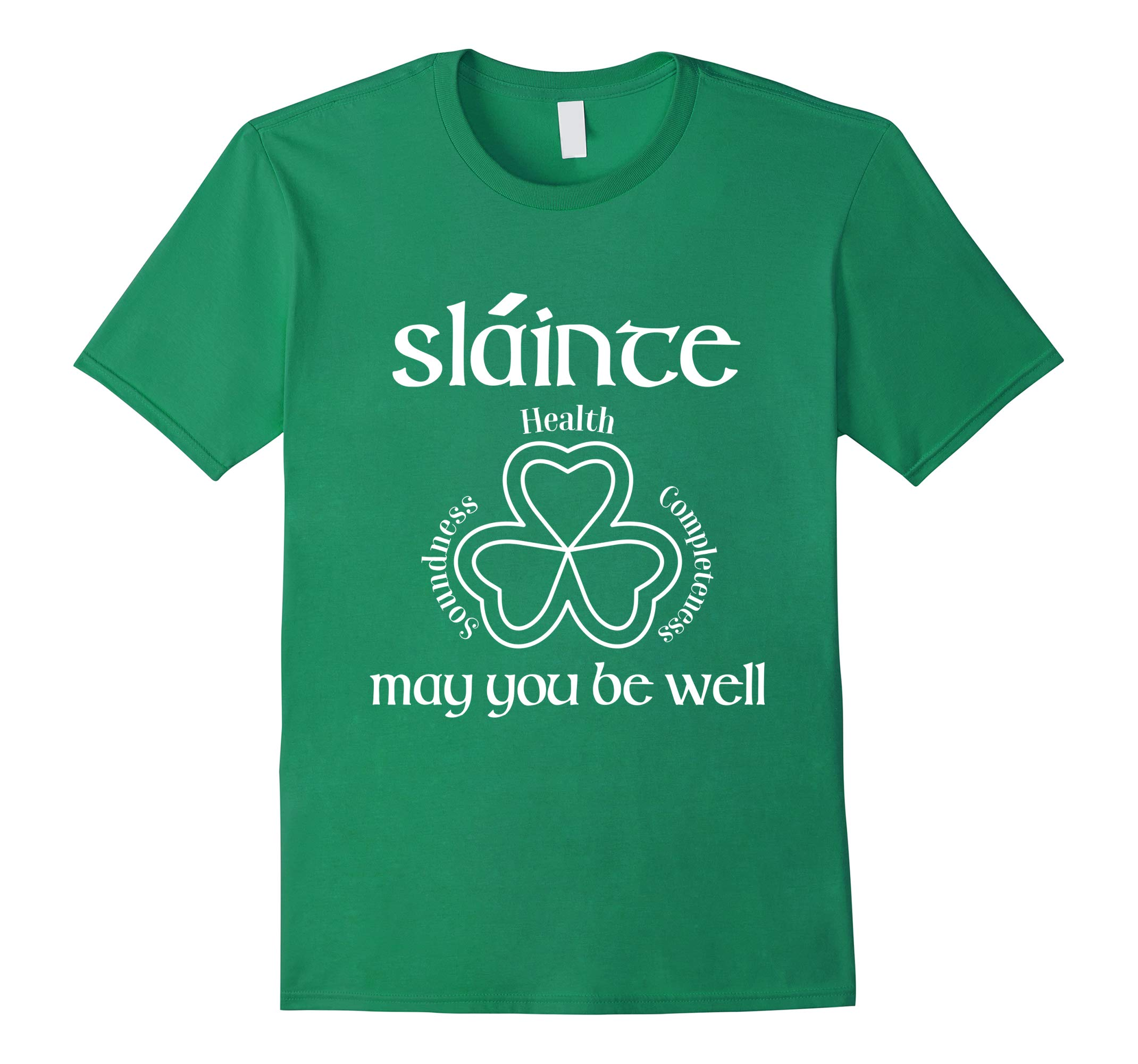 St Patricks Day Irish Clover Shirt - Slainte May You be Well-RT