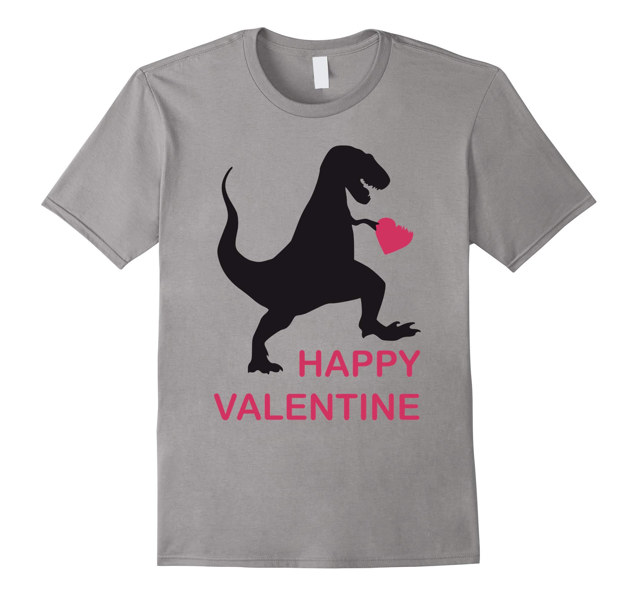 T-Rex Love Valentine's Day Gift Dino T-Shirt-RT