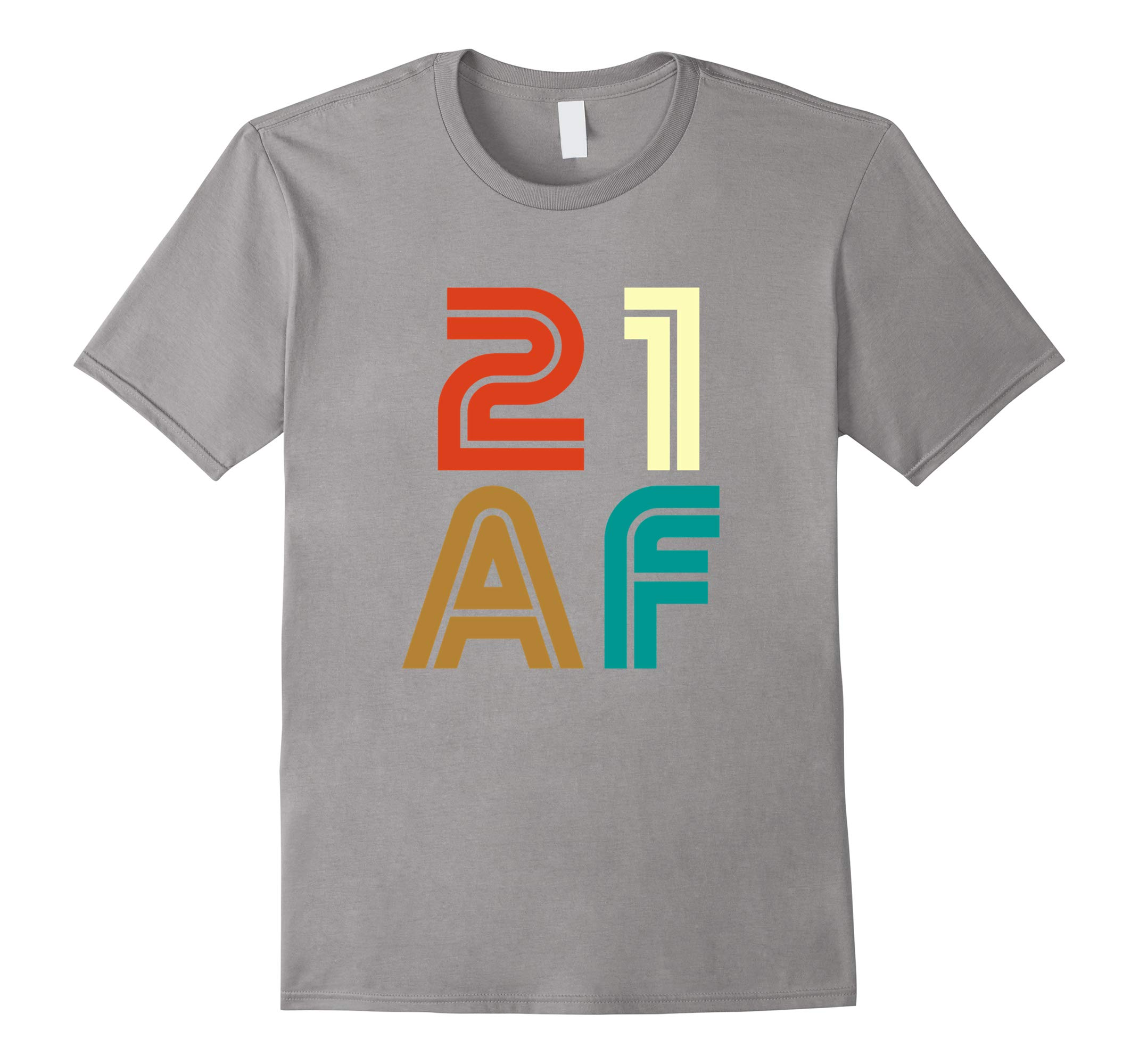 21 AF 1997 21st Gift Retro Classic Vintage Funny T-shirt-RT