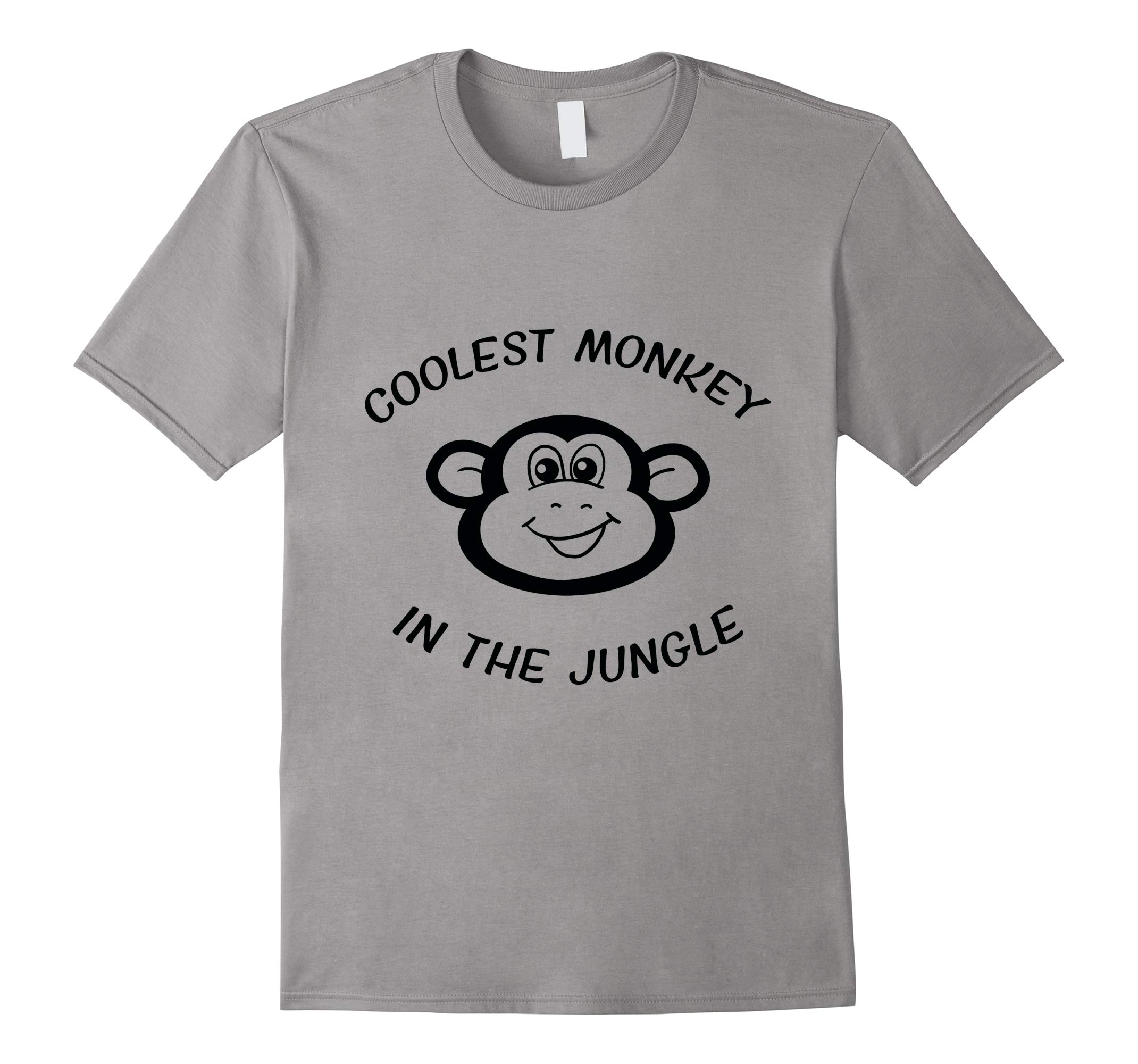 Coolest Monkey In The Jungle Black Monkey HM Protest T-Shirt-RT
