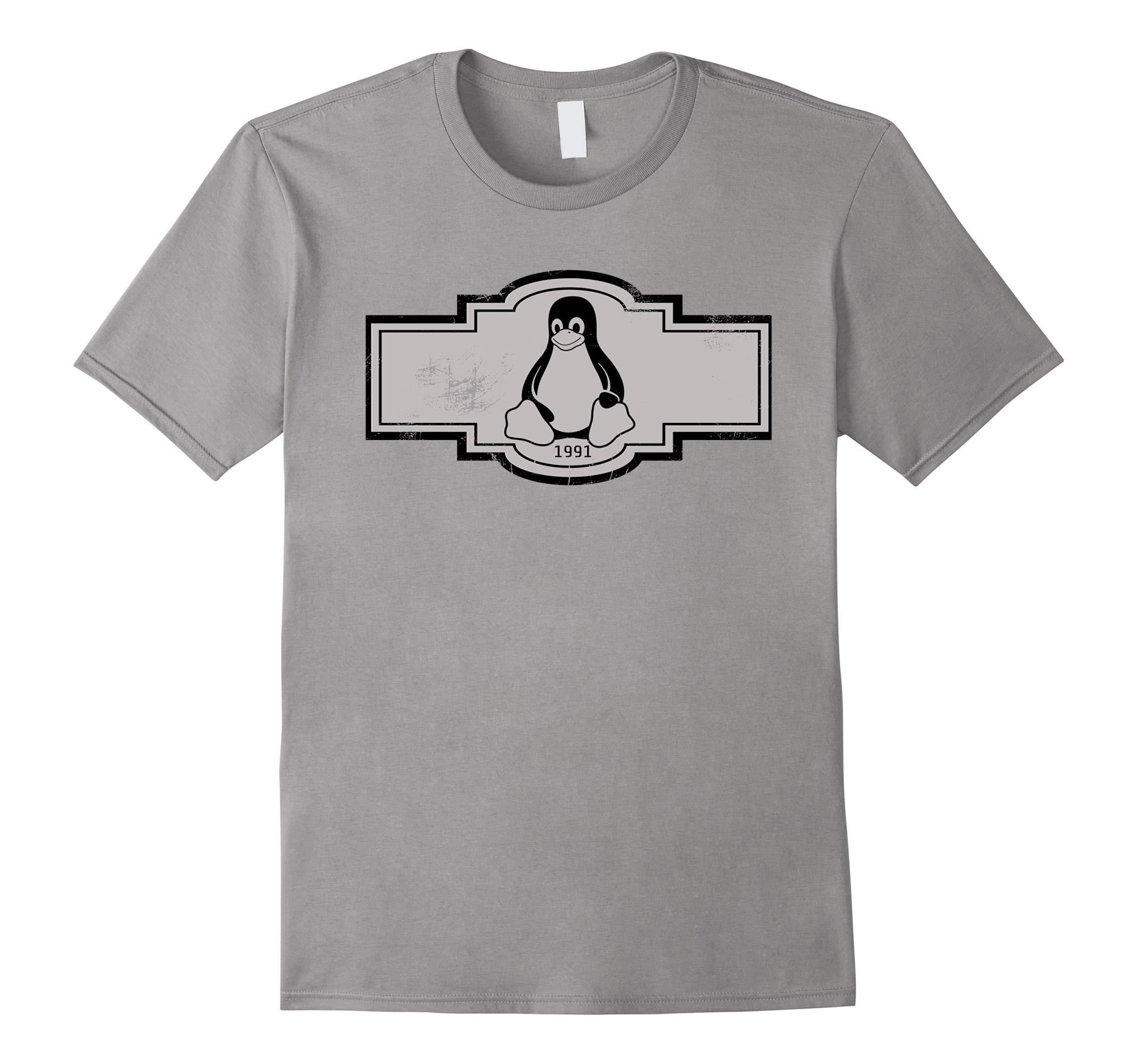 LINUX T SHIRT - Tux the penguin Tee-RT