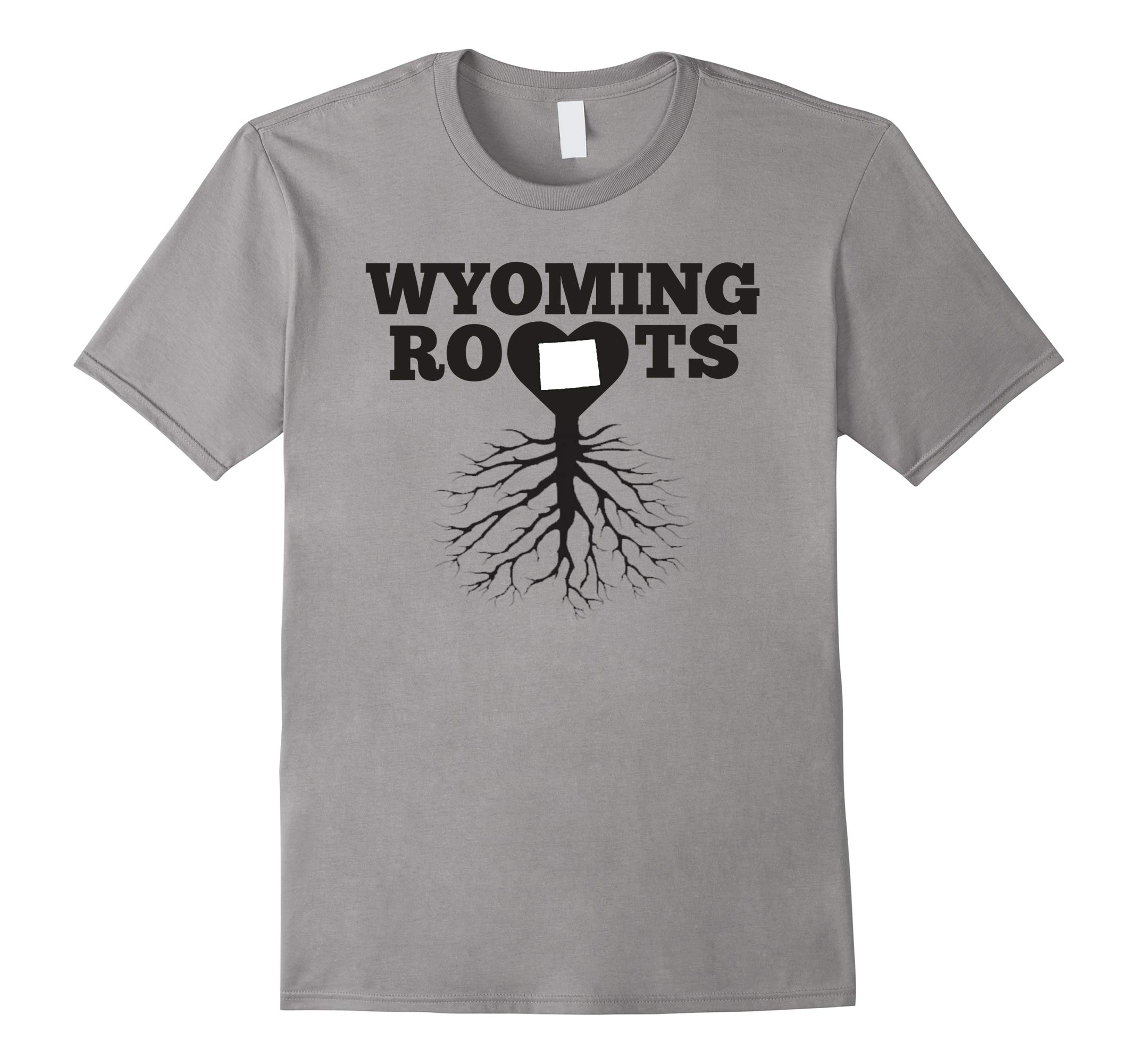 Wyoming Roots Heart Trending T-Shirt-RT