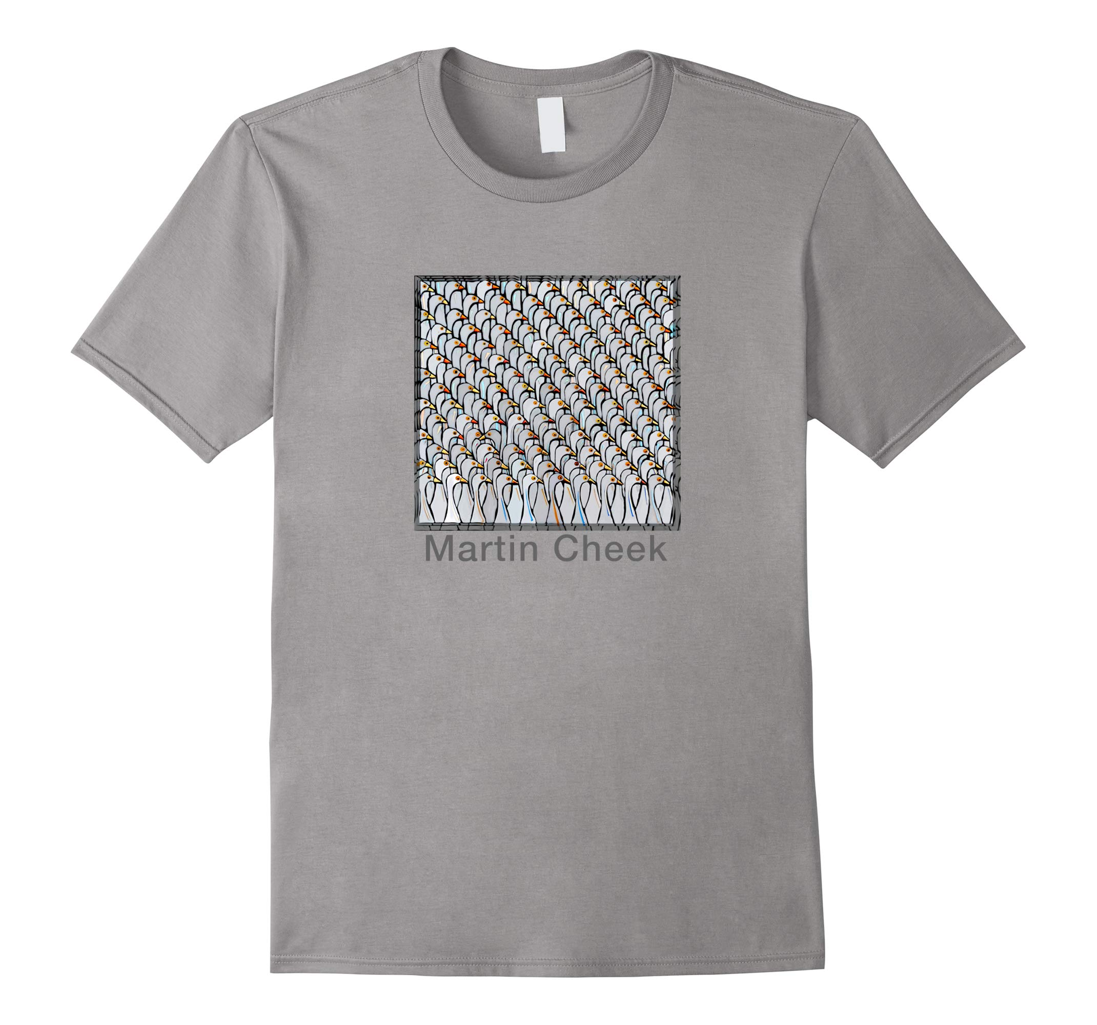 Glass Mosaic Puzzle Geese Shirt for Fun and Education-RT