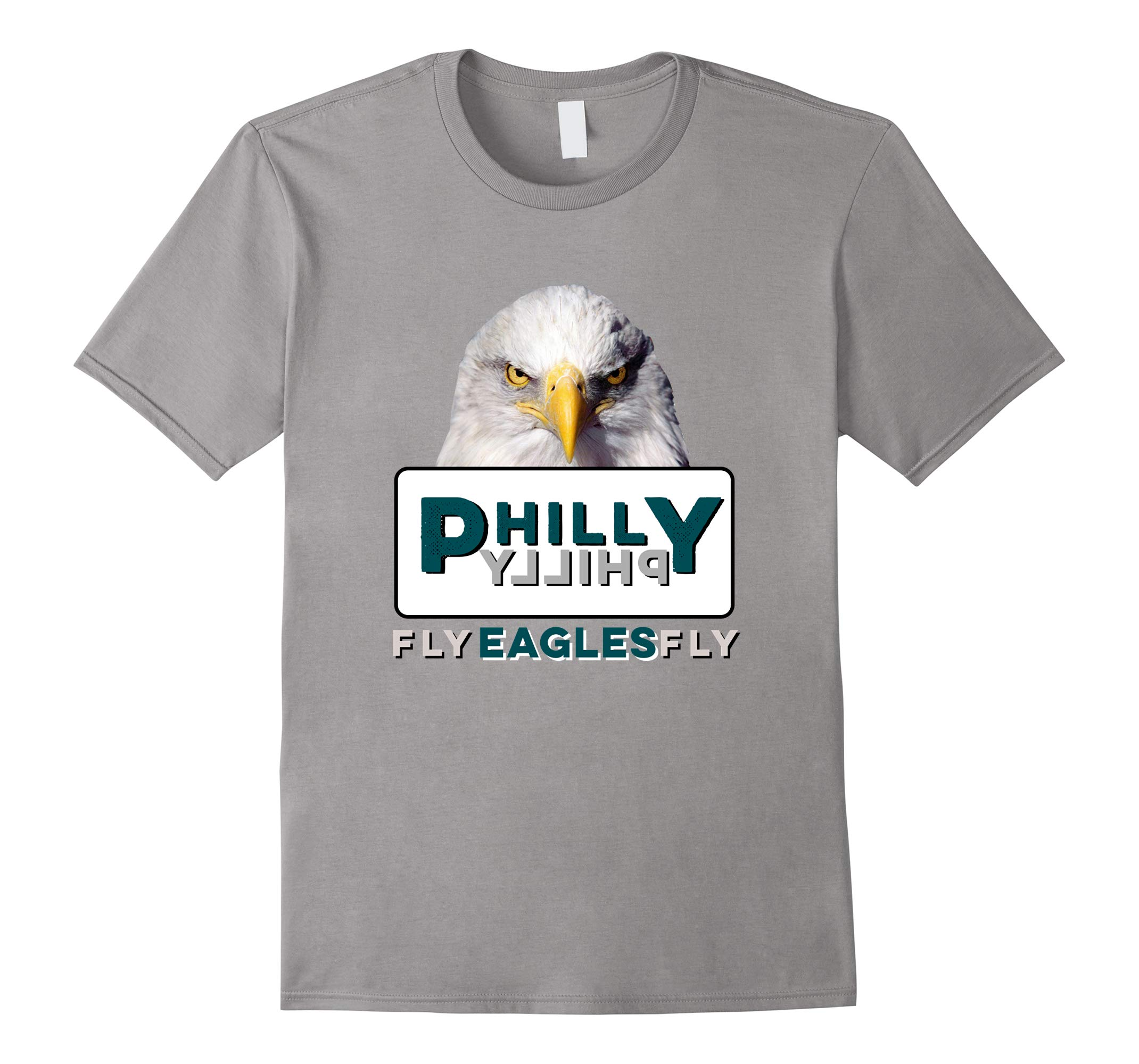 2018 Fly Eagles Fly Philly Philly Support Gift T-Shirt-RT
