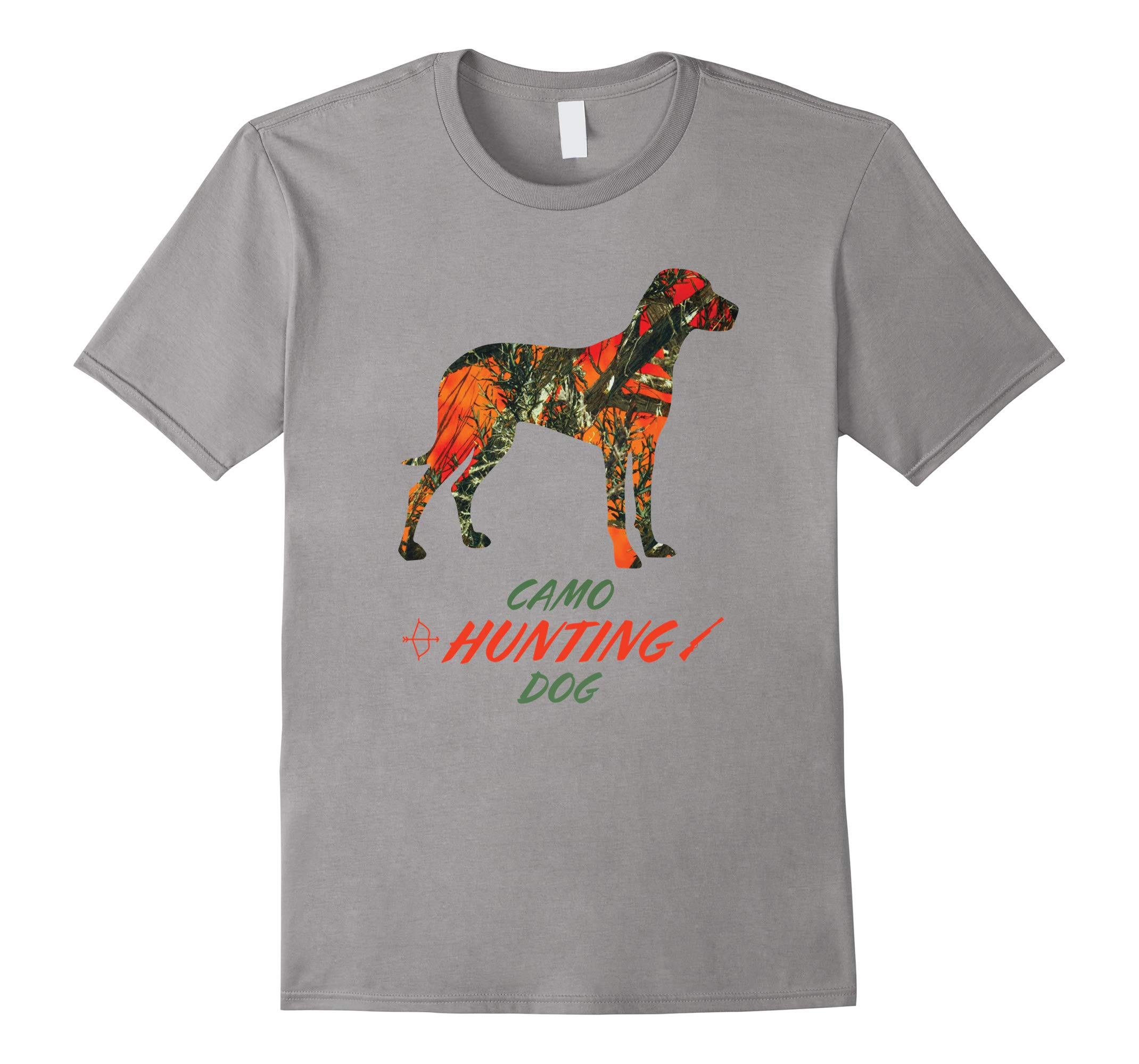 Camo Labrador Hunting Dog T-shirt-RT